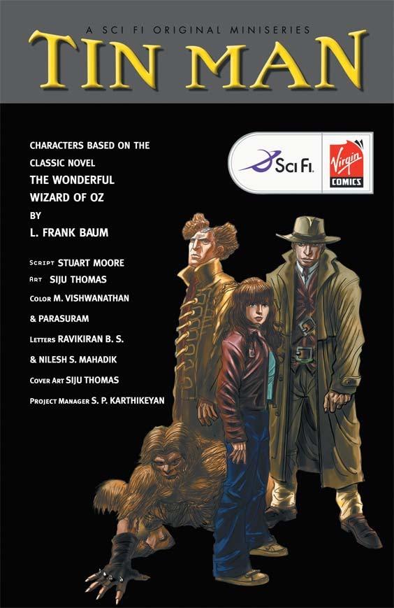 Read online Tin Man comic -  Issue # Full - 2