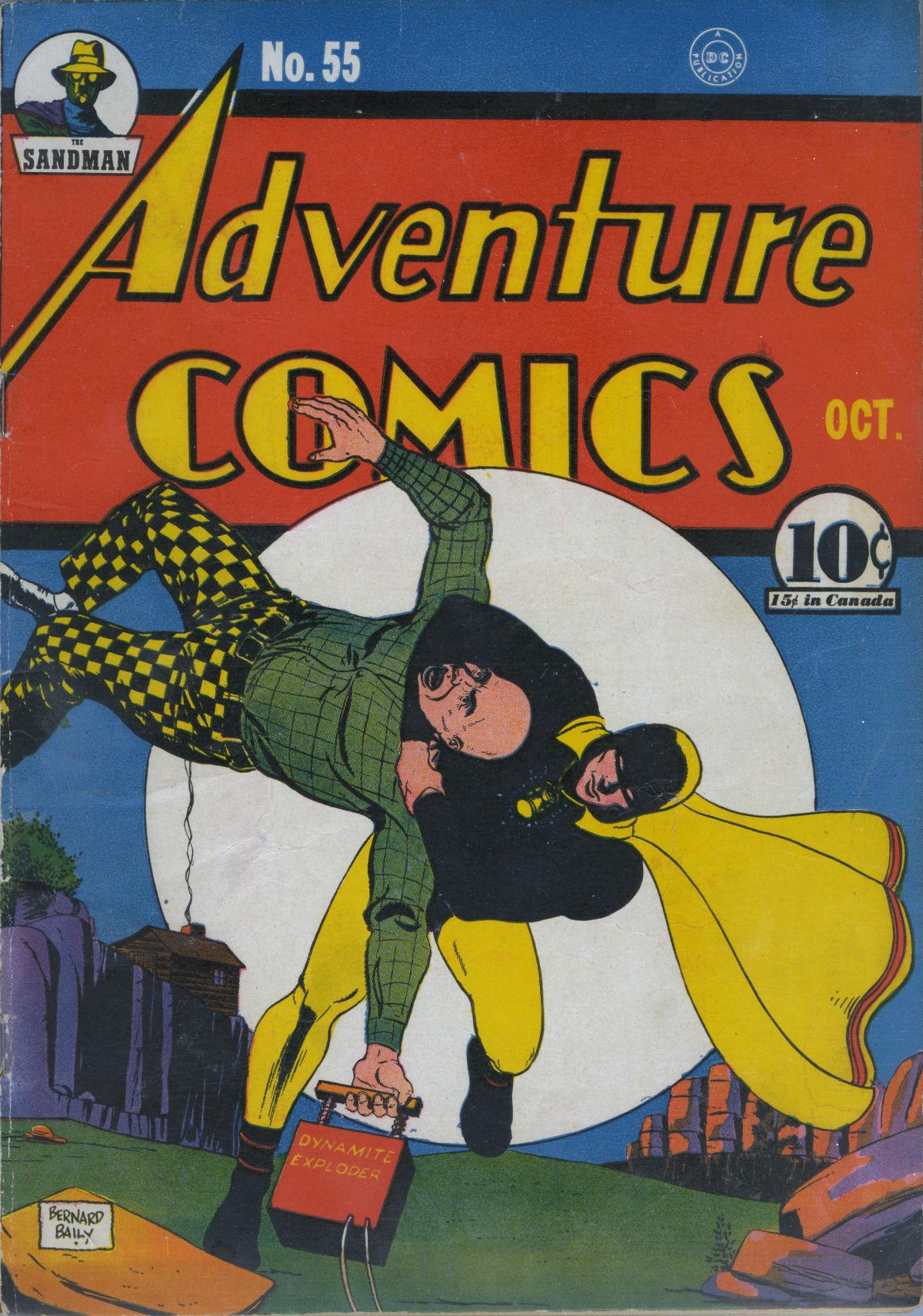 Read online Adventure Comics (1938) comic -  Issue #55 - 2