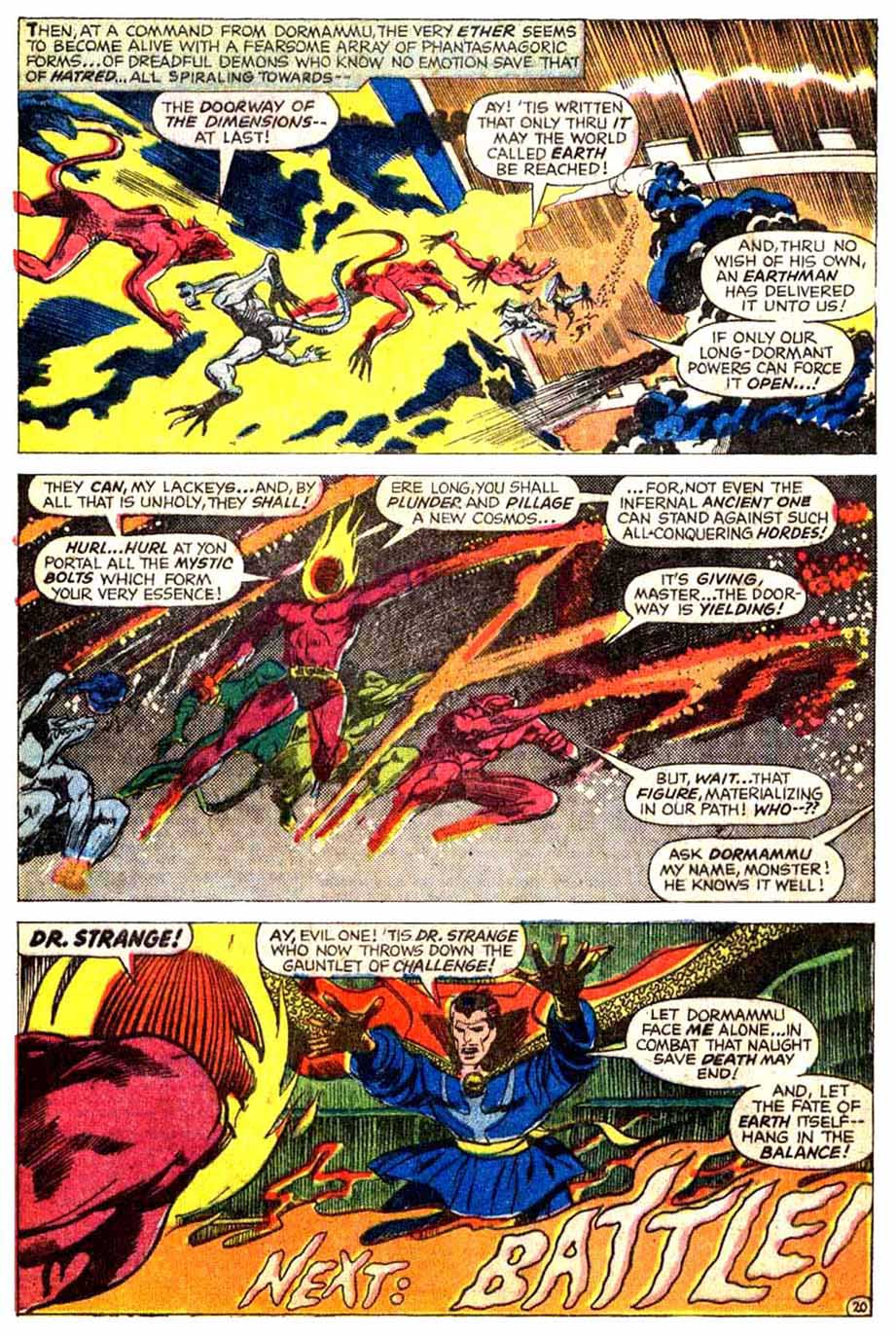 Doctor Strange (1968) 172 Page 21