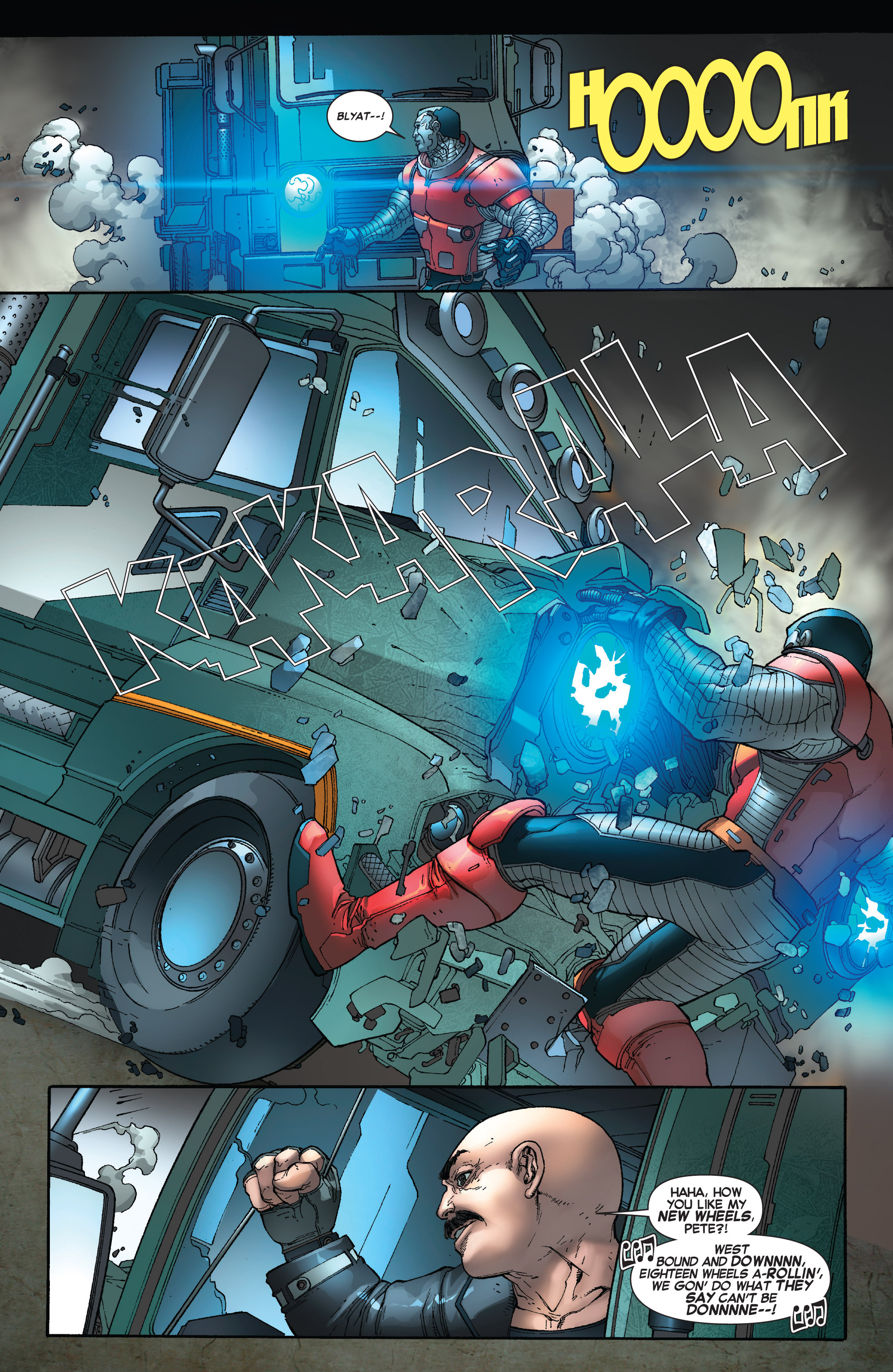 Read online Uncanny X-Force (2013) comic -  Issue #16 - 18
