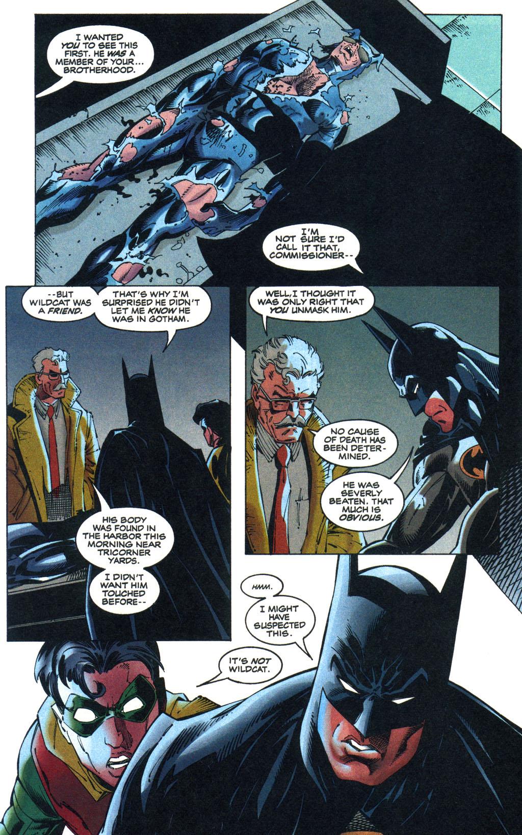 Read online Batman/Wildcat comic -  Issue #1 - 8