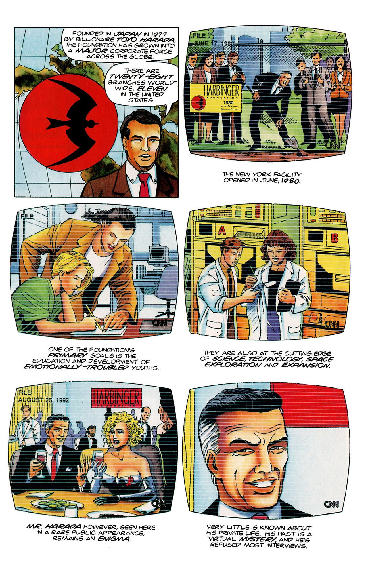 Read online Harbinger (1992) comic -  Issue #26 - 4