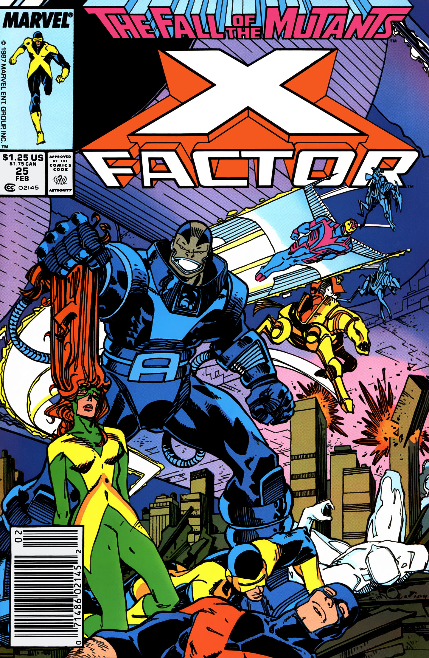 Read online X-Factor (1986) comic -  Issue #25 - 1