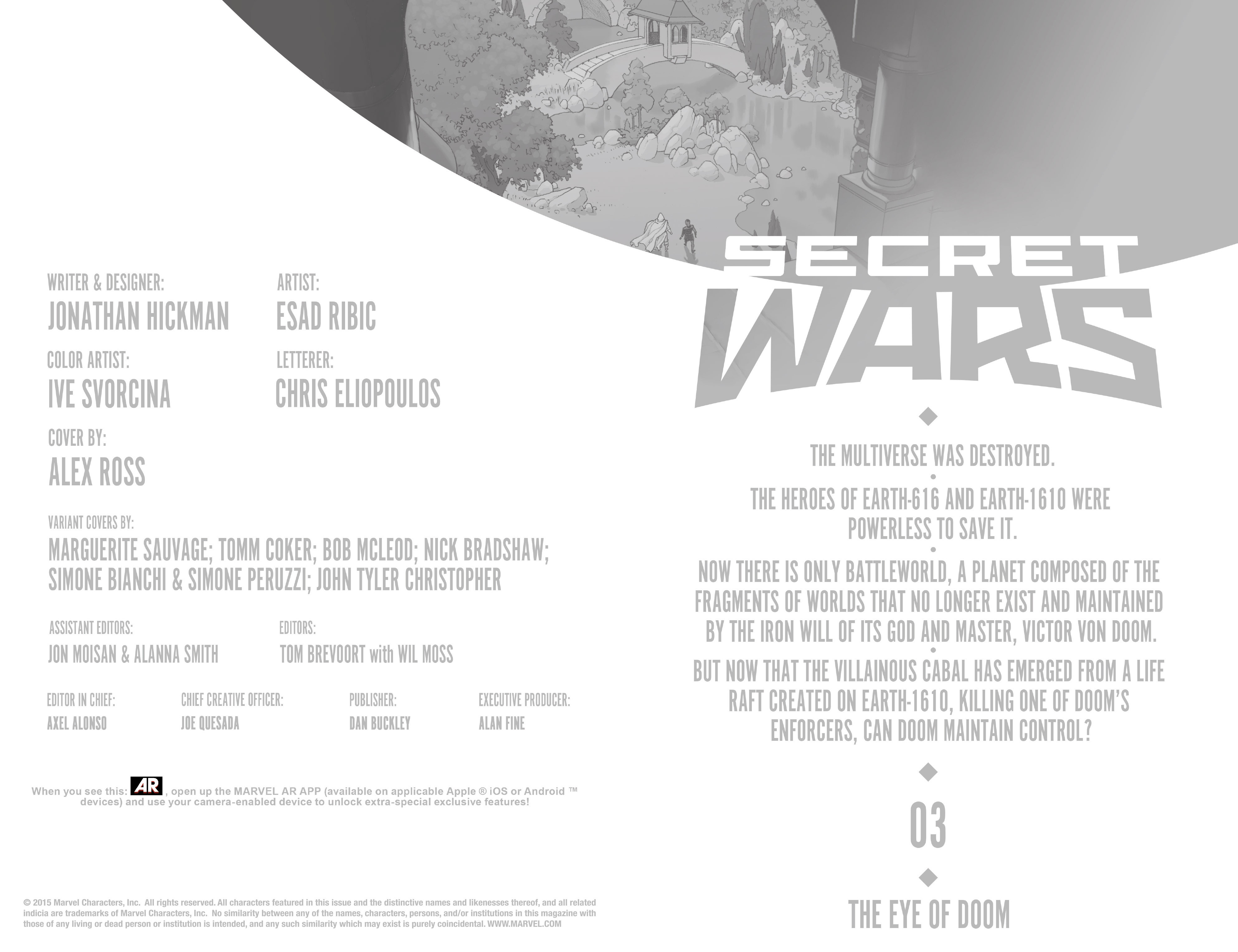 Read online Secret Wars comic -  Issue #3 - 13