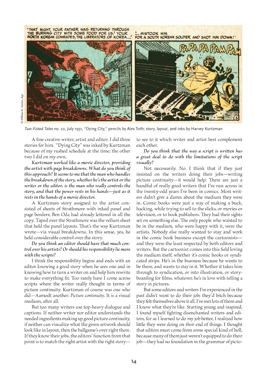Read online Setting the Standard: Comics by Alex Toth 1952-1954 comic -  Issue # TPB (Part 1) - 13