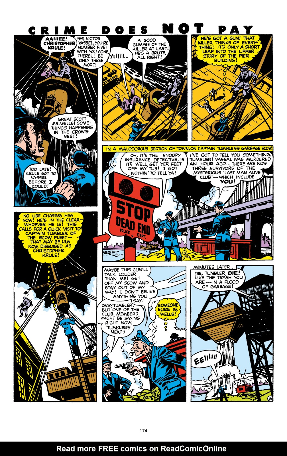 Read online Crime Does Not Pay Archives comic -  Issue # TPB 8 (Part 2) - 75