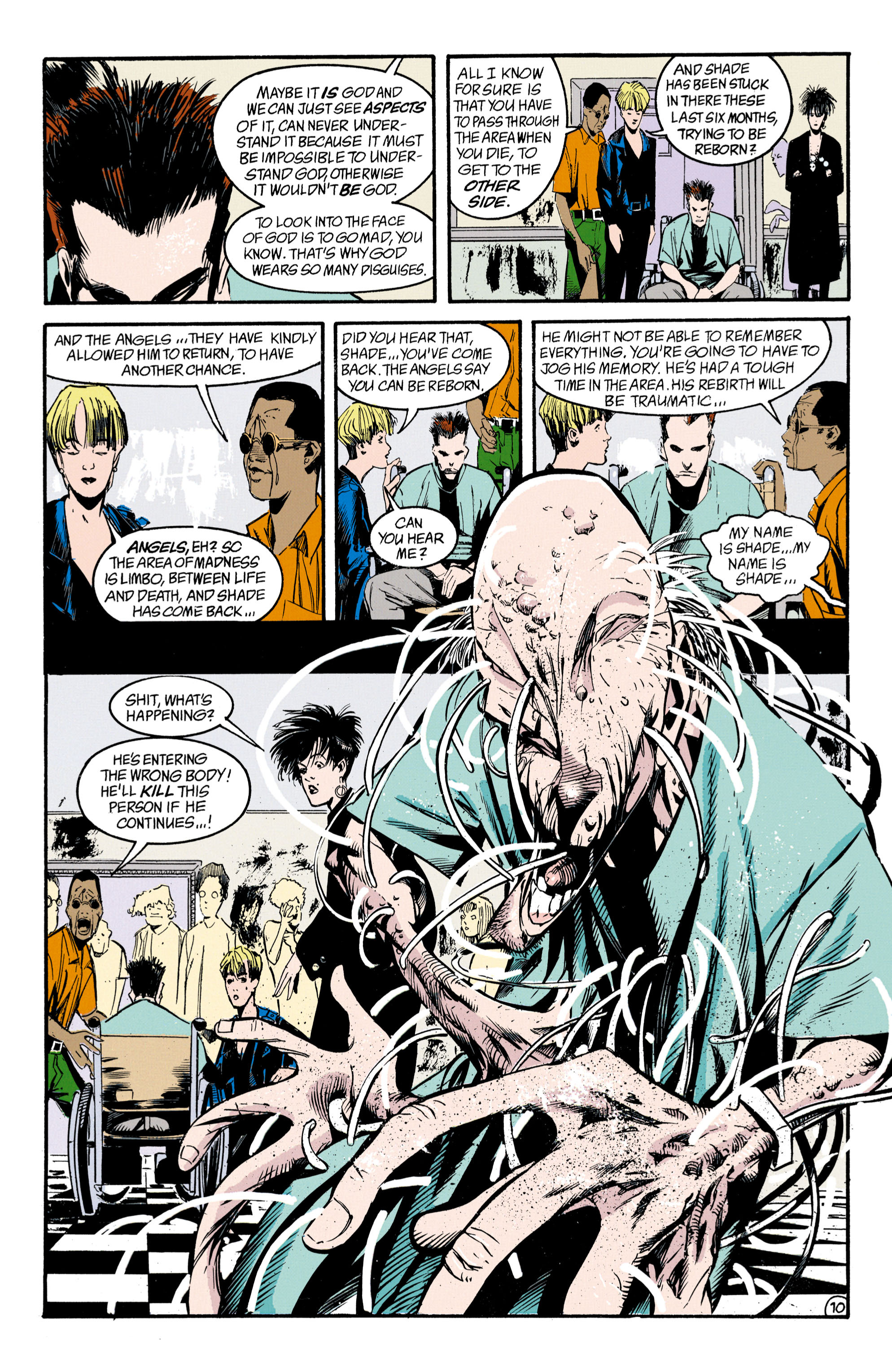 Read online Shade, the Changing Man comic -  Issue #33 - 11