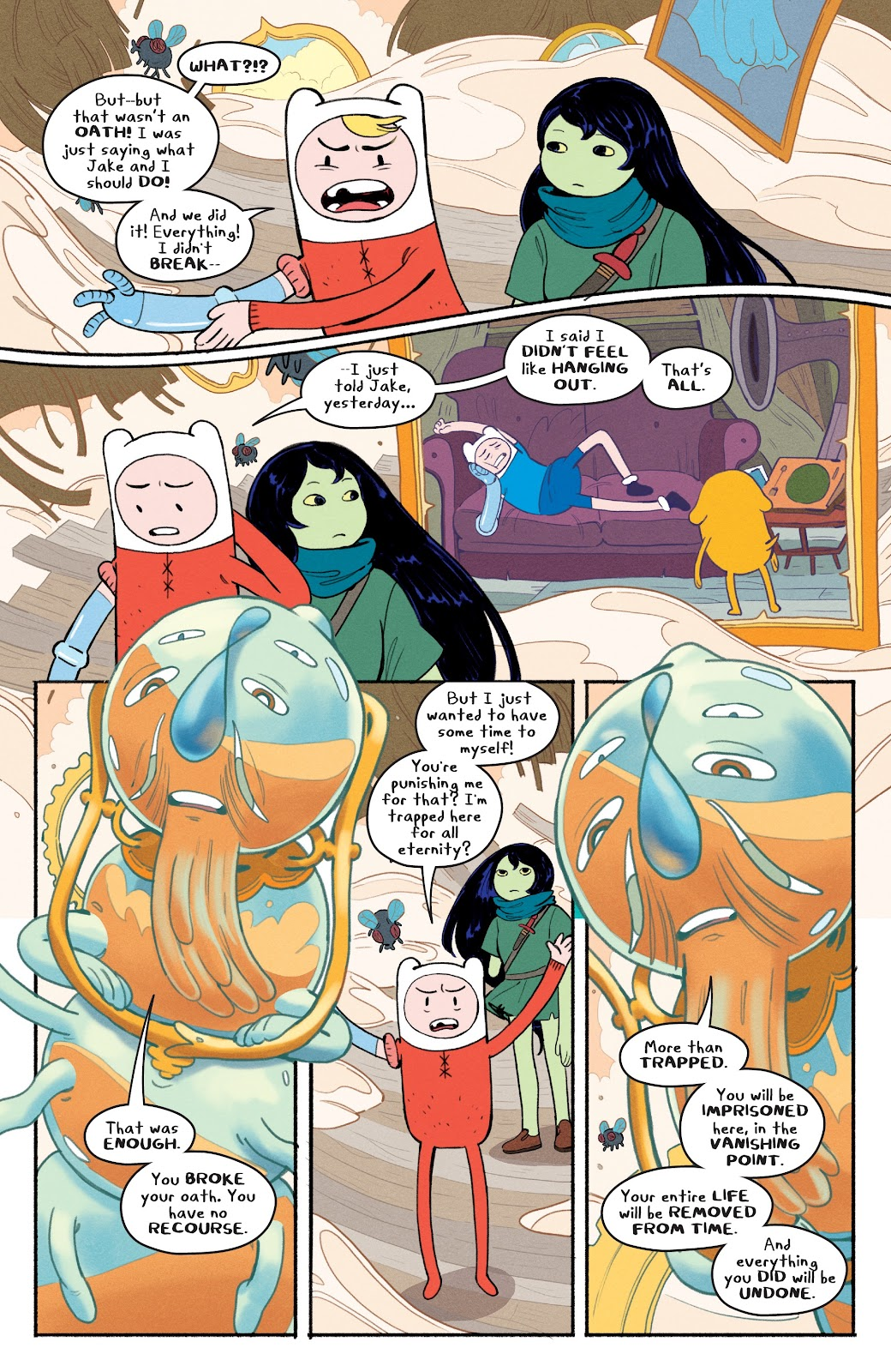 Read online Adventure Time: Beginning of the End comic -  Issue # _TPB - 23