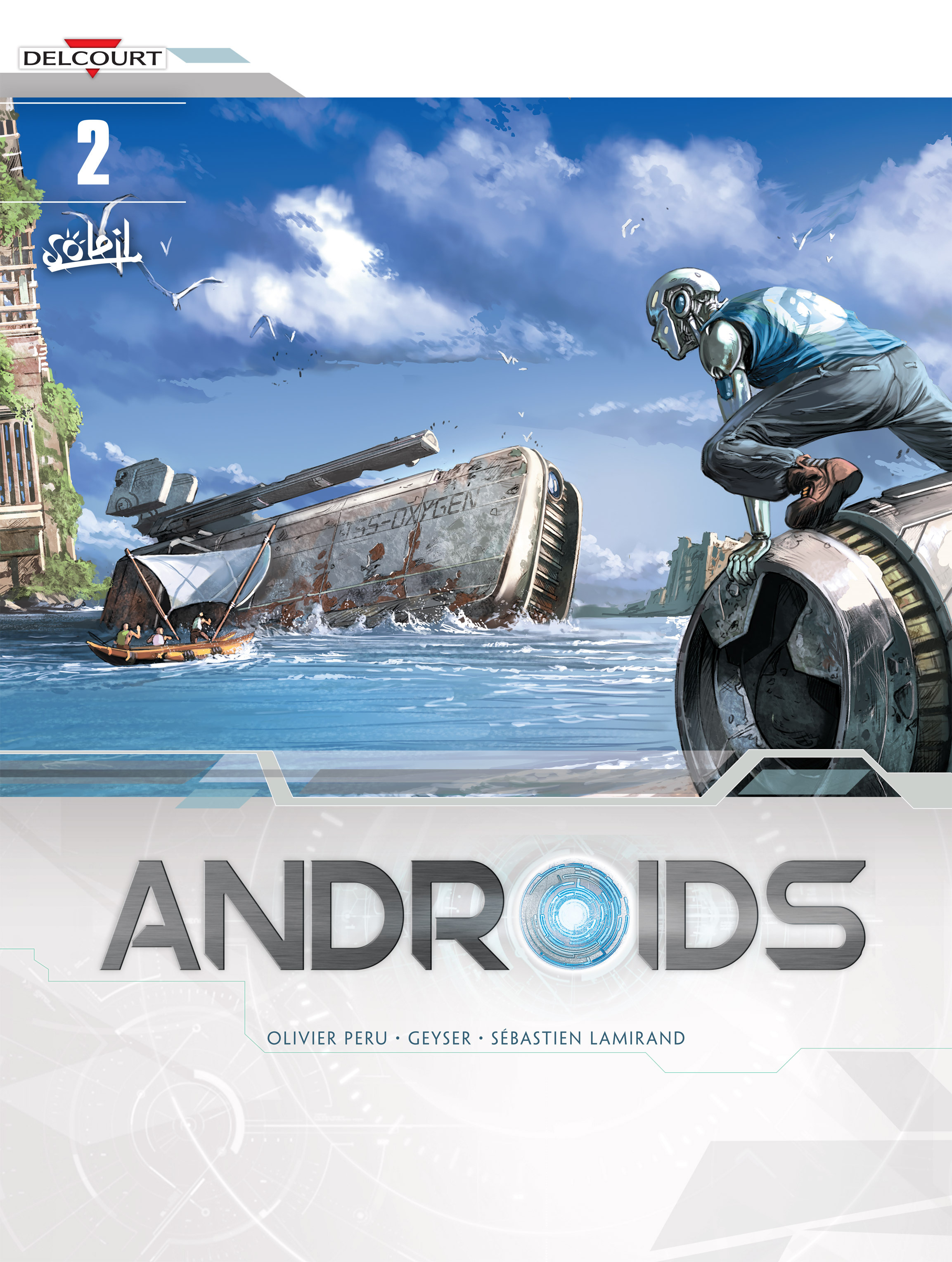 Read online Androïds comic -  Issue #2 - 1