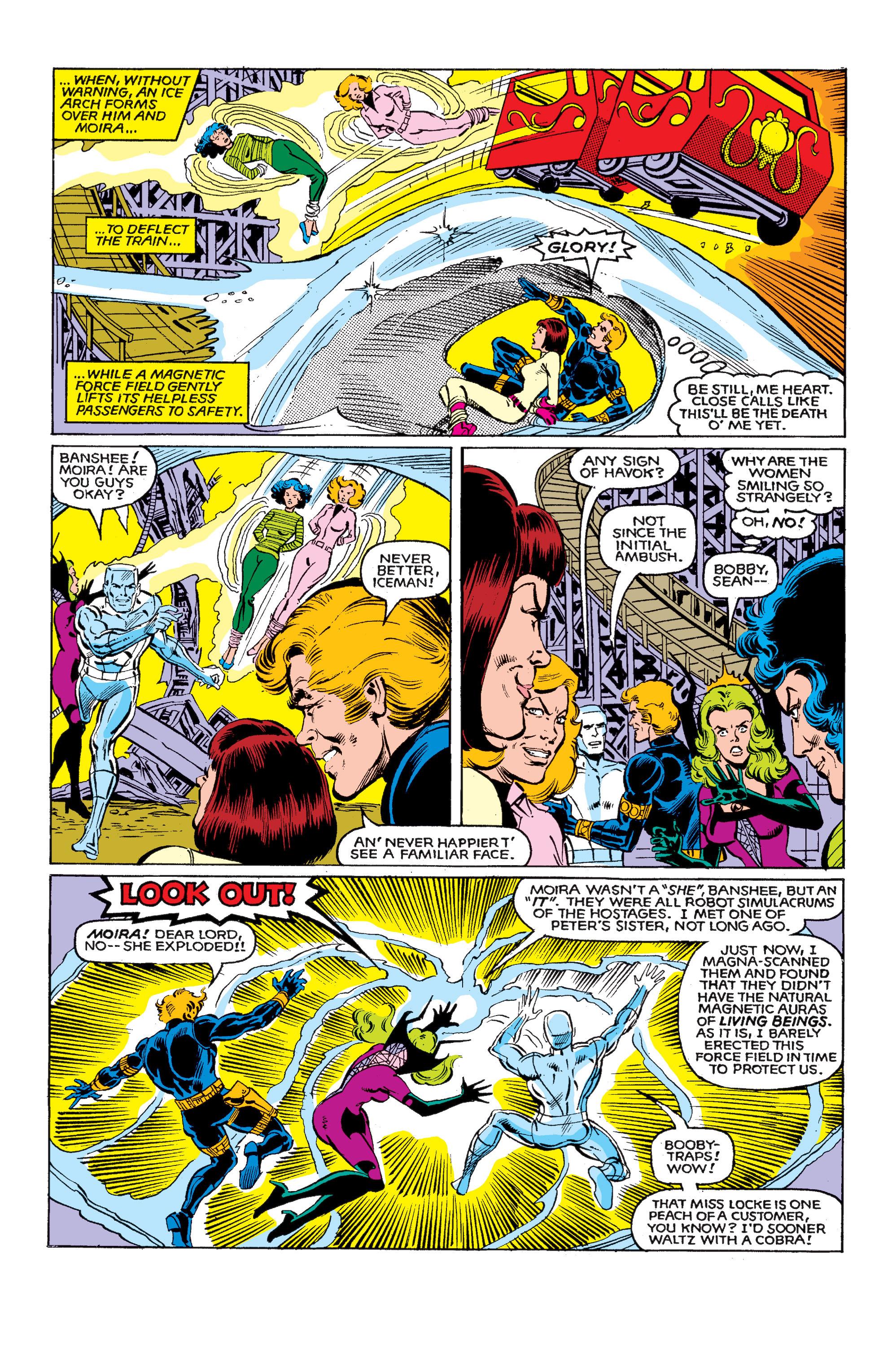 Read online Uncanny X-Men (1963) comic -  Issue #146 - 21