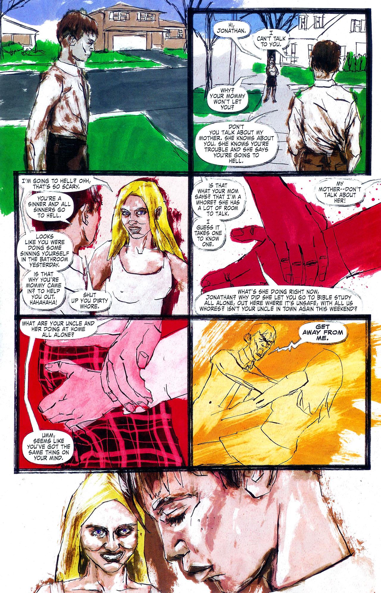 Read online Se7en comic -  Issue #4 - 20