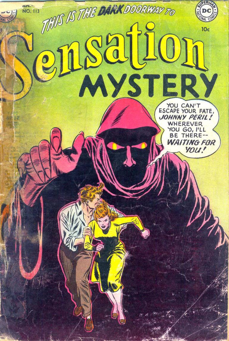 Read online Sensation (Mystery) Comics comic -  Issue #113 - 1