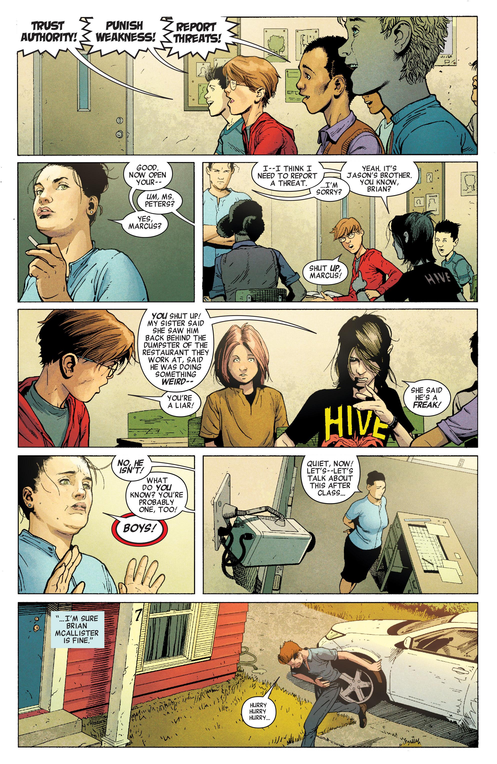 Read online Secret Empire comic -  Issue #1 - 4