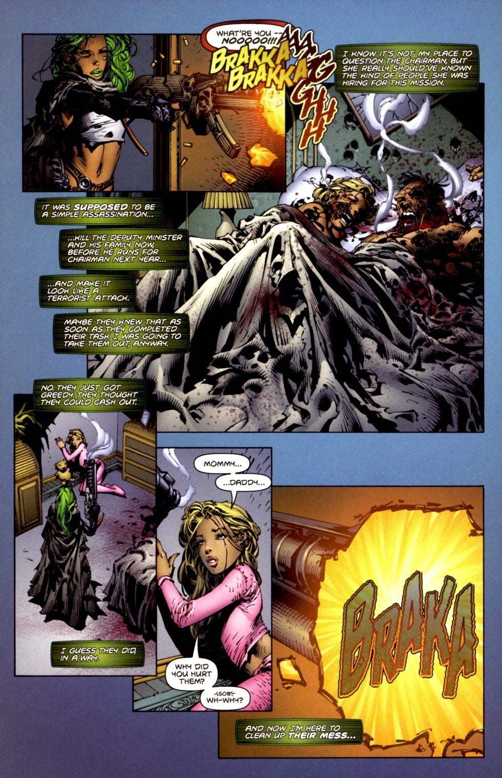 Read online Aphrodite IX (2000) comic -  Issue #2 - 13