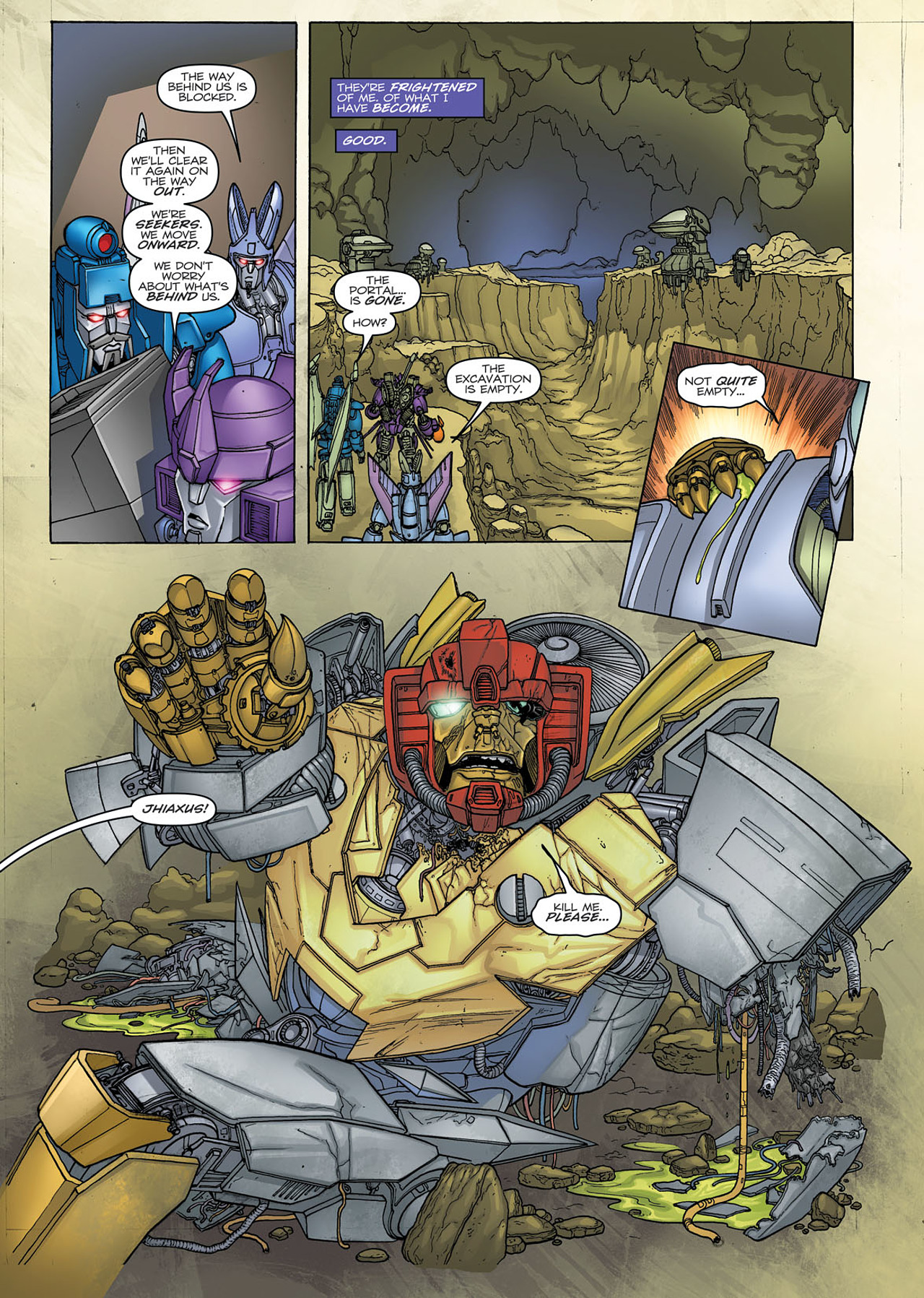 Read online Transformers: Heart of Darkness comic -  Issue #1 - 19