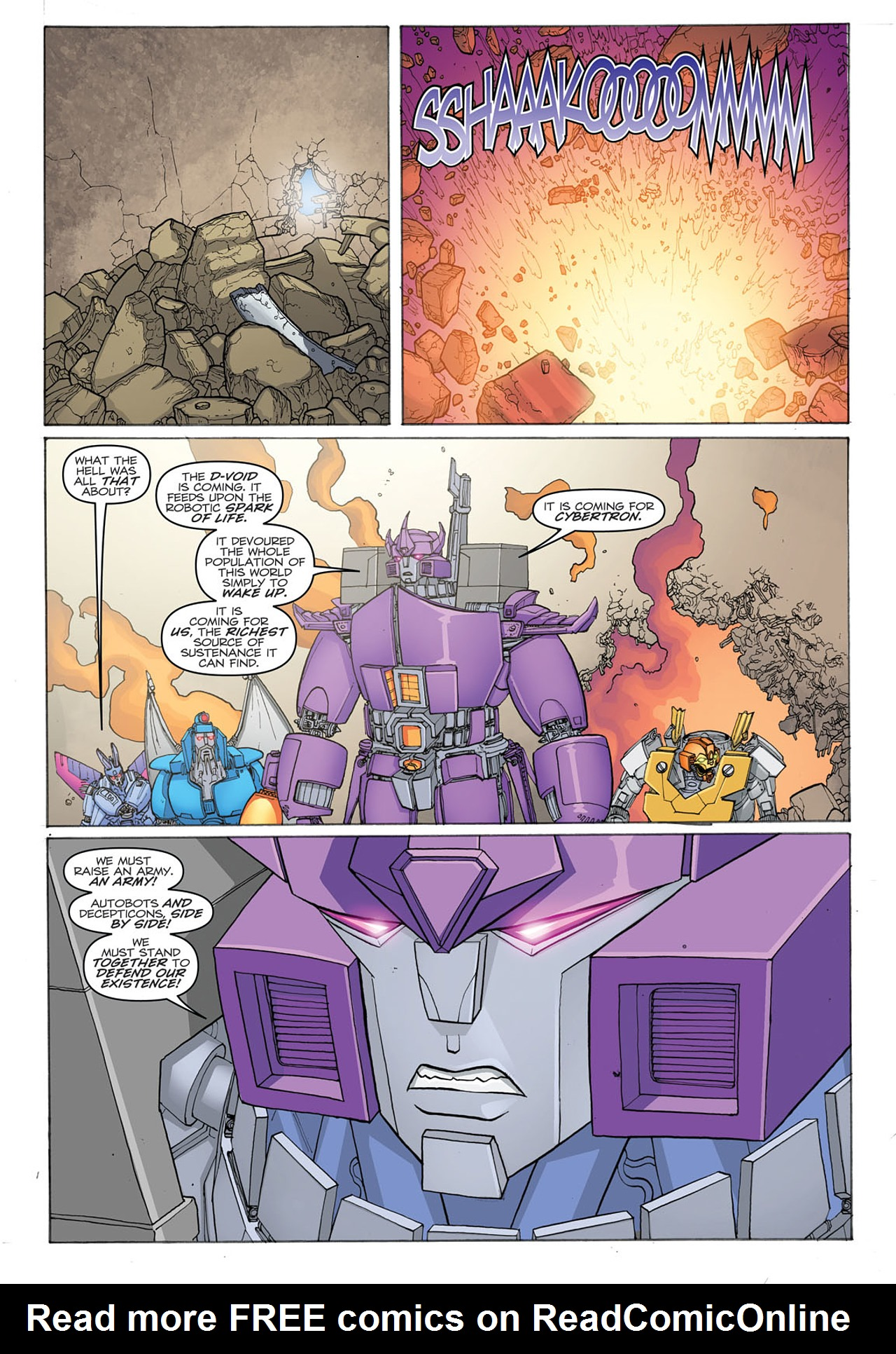 Read online Transformers: Heart of Darkness comic -  Issue #2 - 23