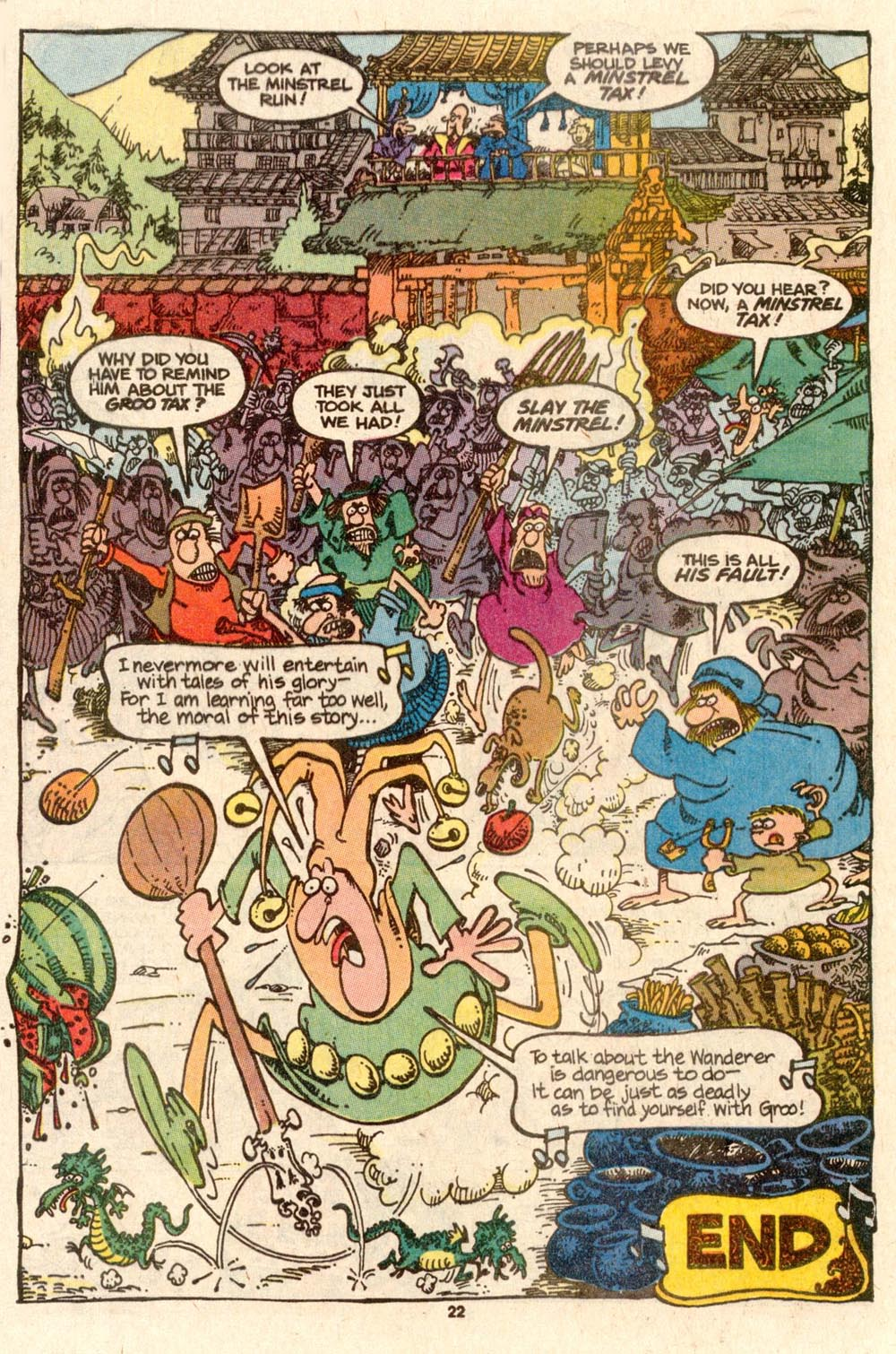 Read online Sergio Aragonés Groo the Wanderer comic -  Issue #56 - 22