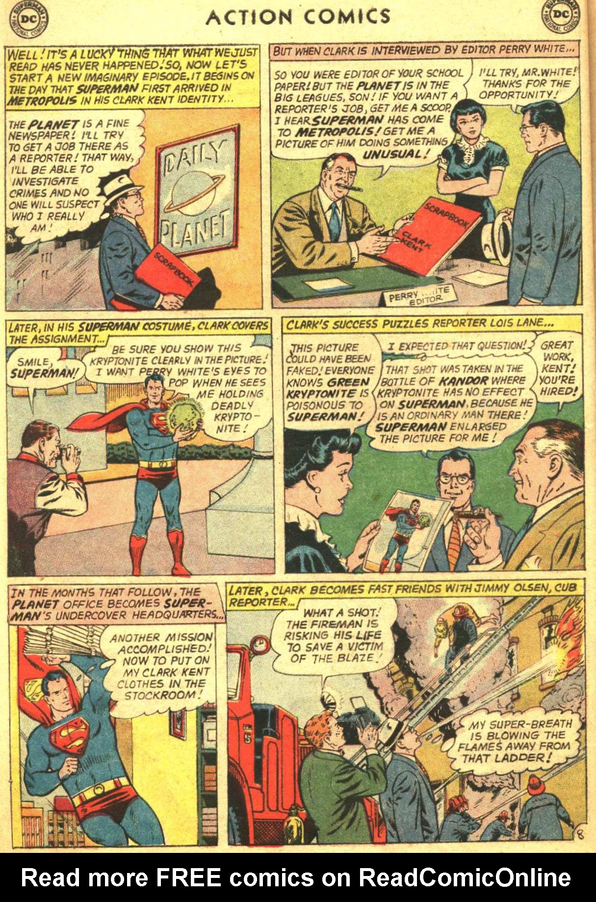 Read online Action Comics (1938) comic -  Issue #305 - 10