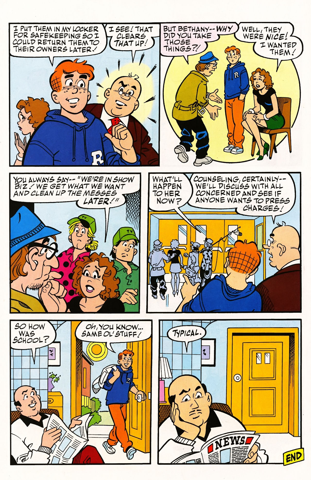 Read online Archie (1960) comic -  Issue #597 - 32
