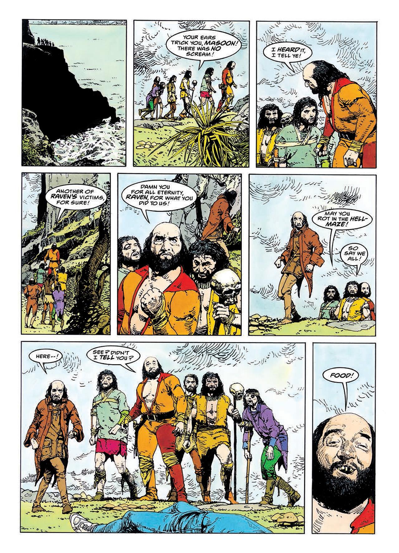 Read online Mazeworld comic -  Issue # TPB - 102