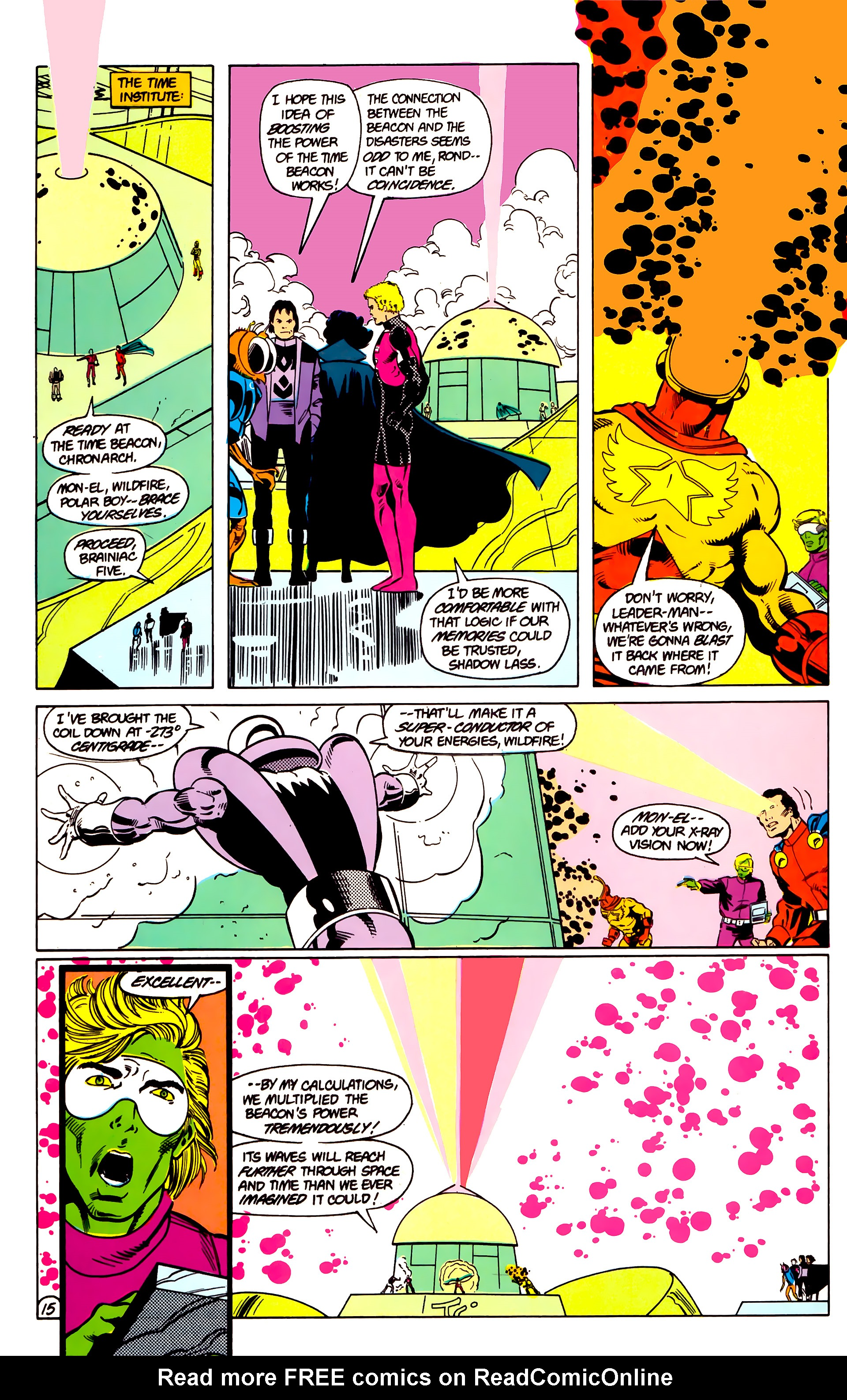 Legion of Super-Heroes (1984) 18 Page 15