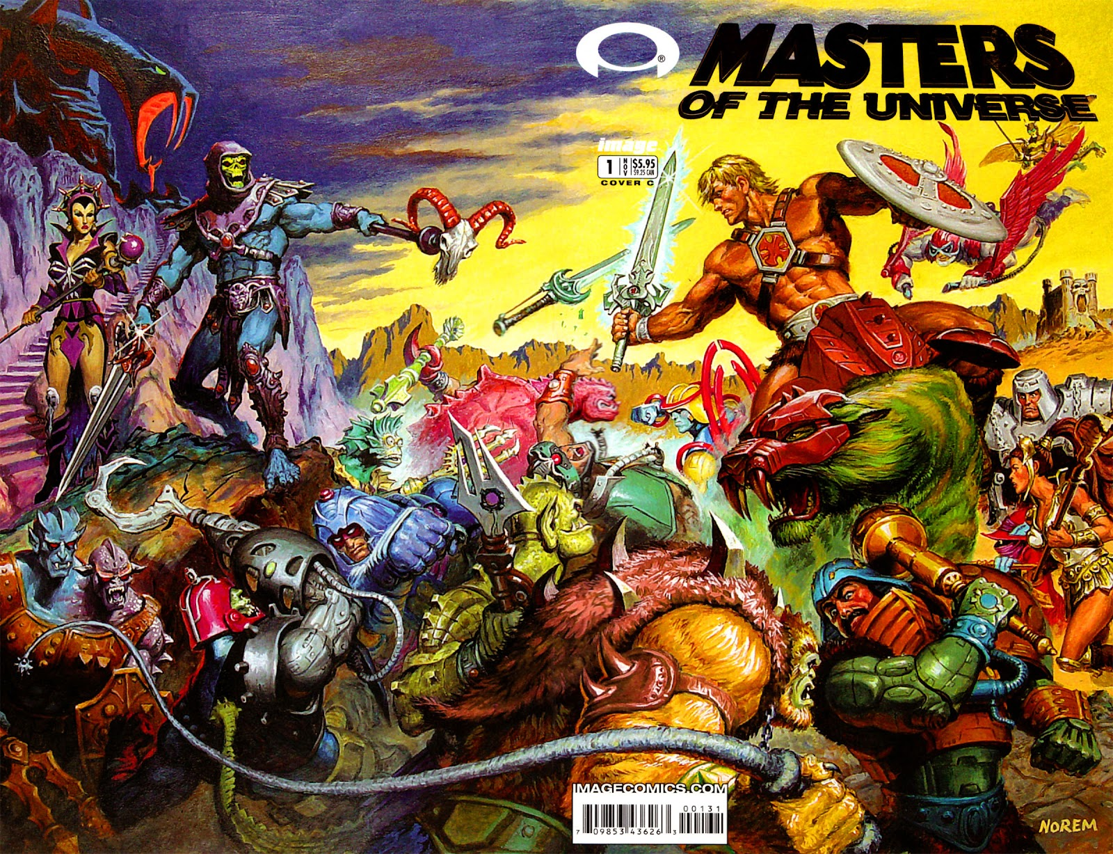 Masters of the Universe (2002) issue 1 - Page 2