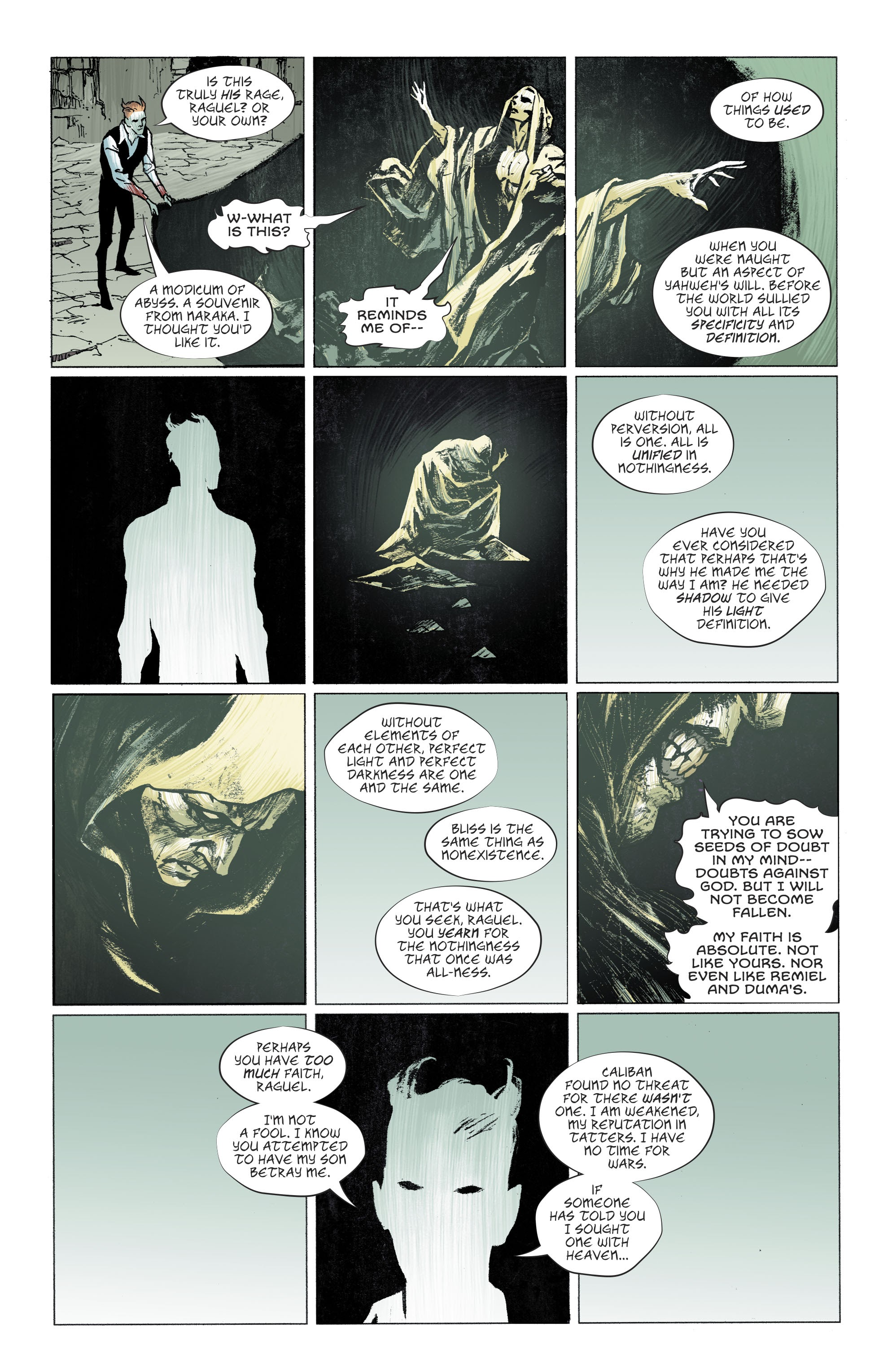 Read online Lucifer (2018) comic -  Issue #11 - 15