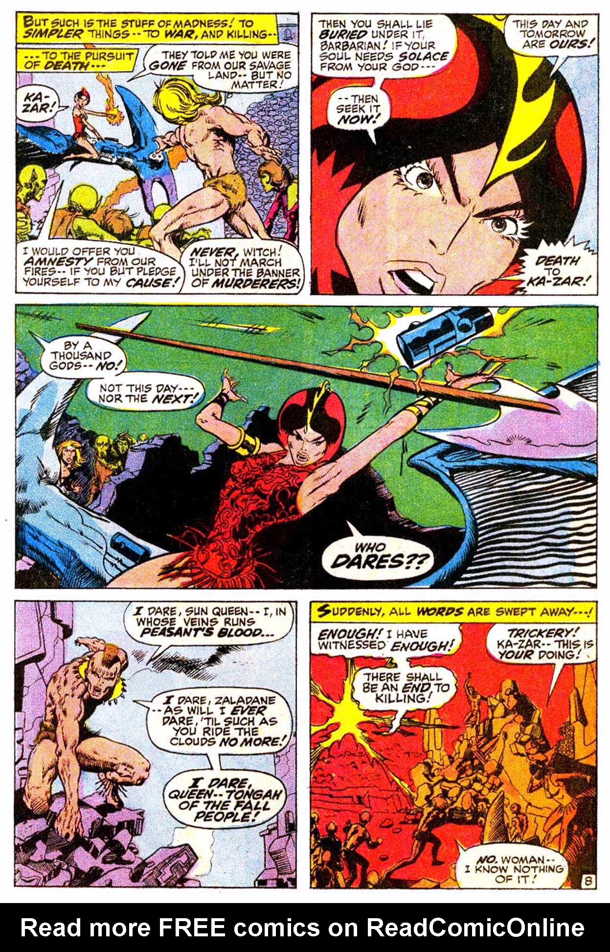 Read online Astonishing Tales (1970) comic -  Issue #4 - 19