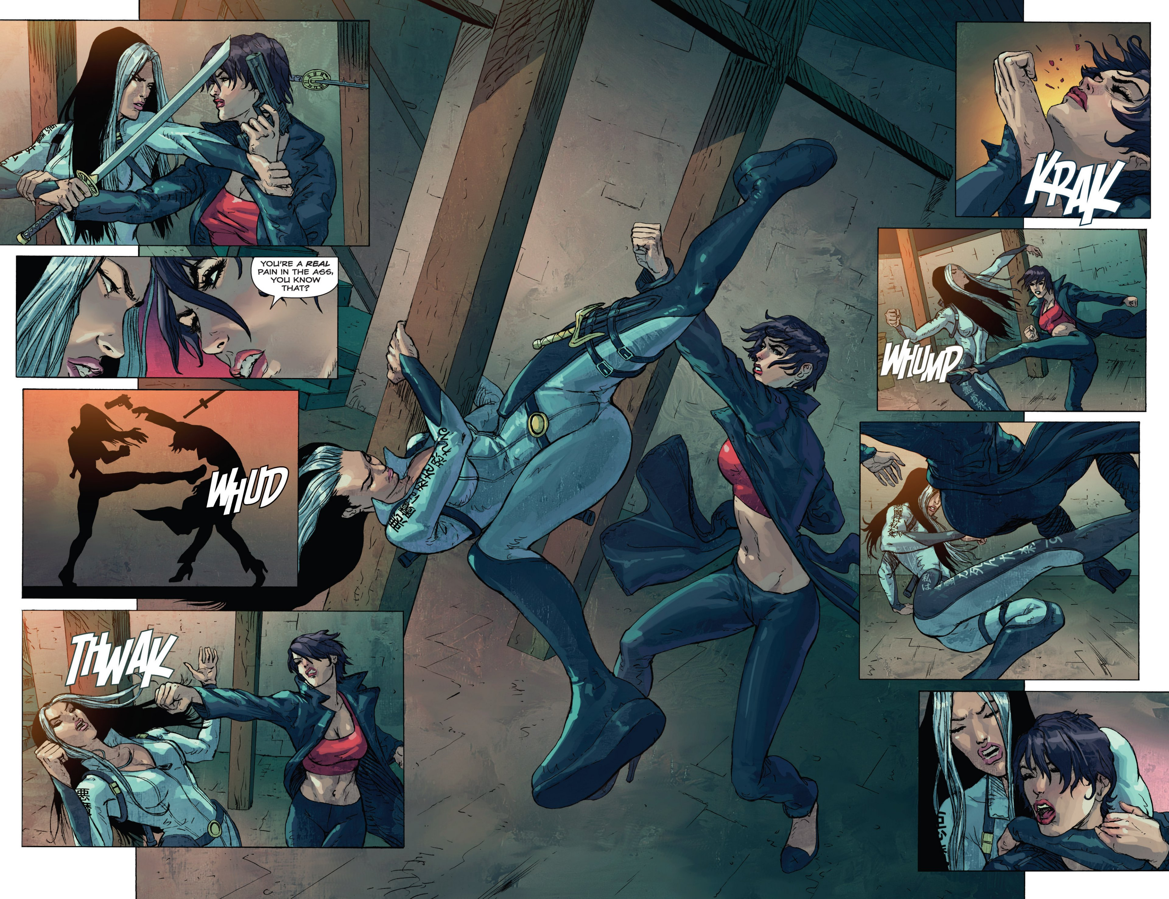 Read online Grimm Fairy Tales presents Inferno: Age of Darkness comic -  Issue # Full - 21