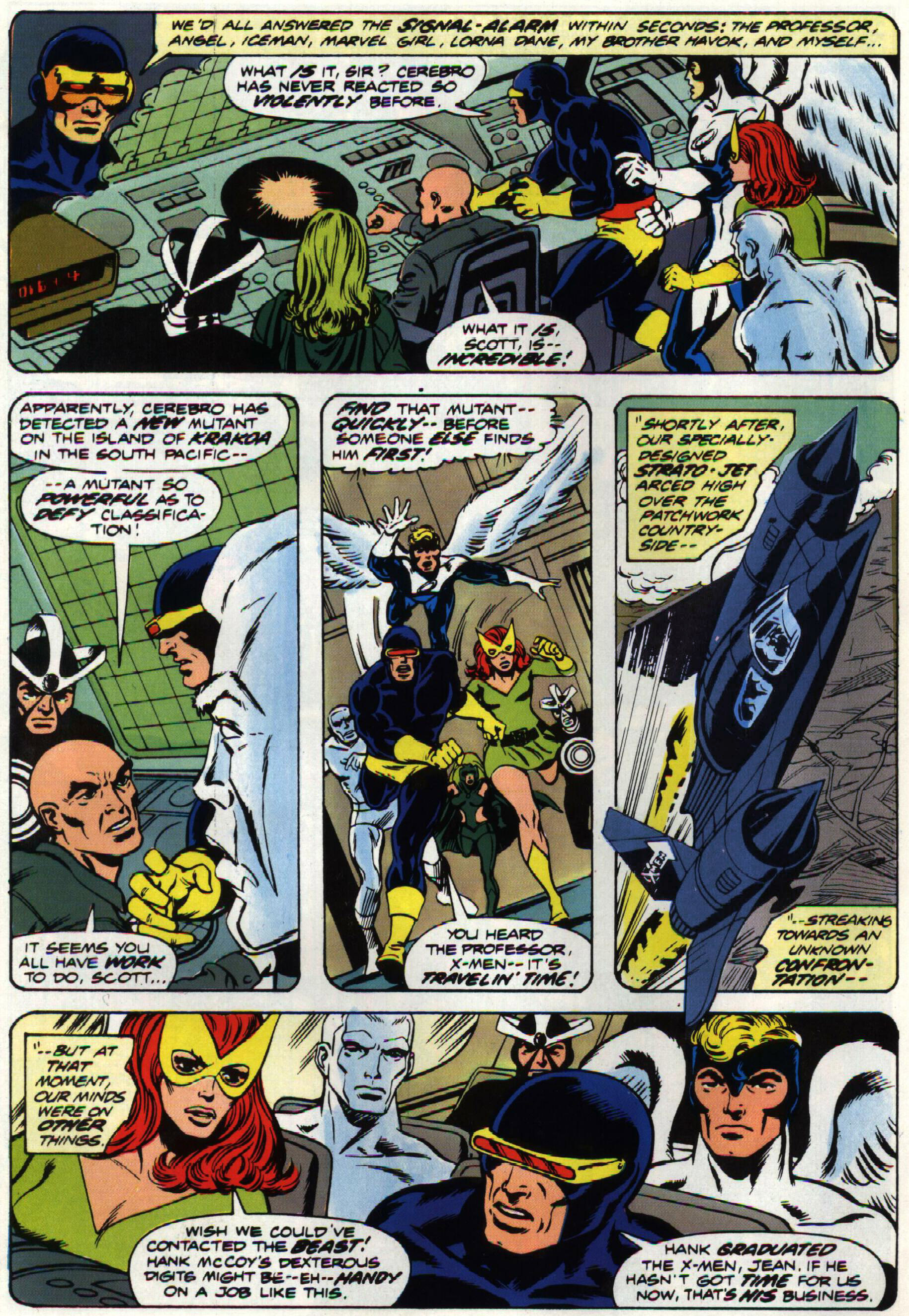 Read online Giant-Size X-Men comic -  Issue #1 - 17