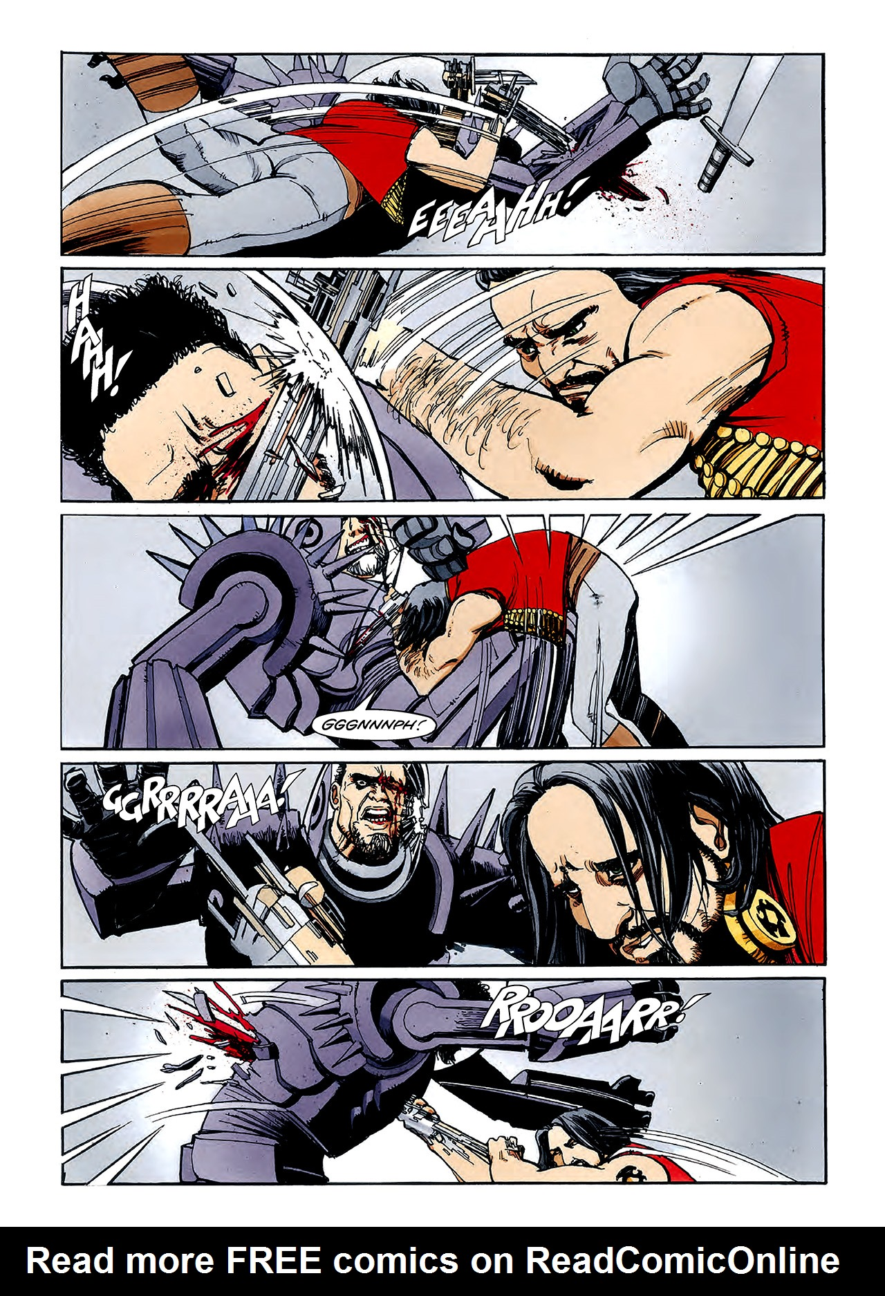Read online Nikolai Dante comic -  Issue # TPB 3 - 122