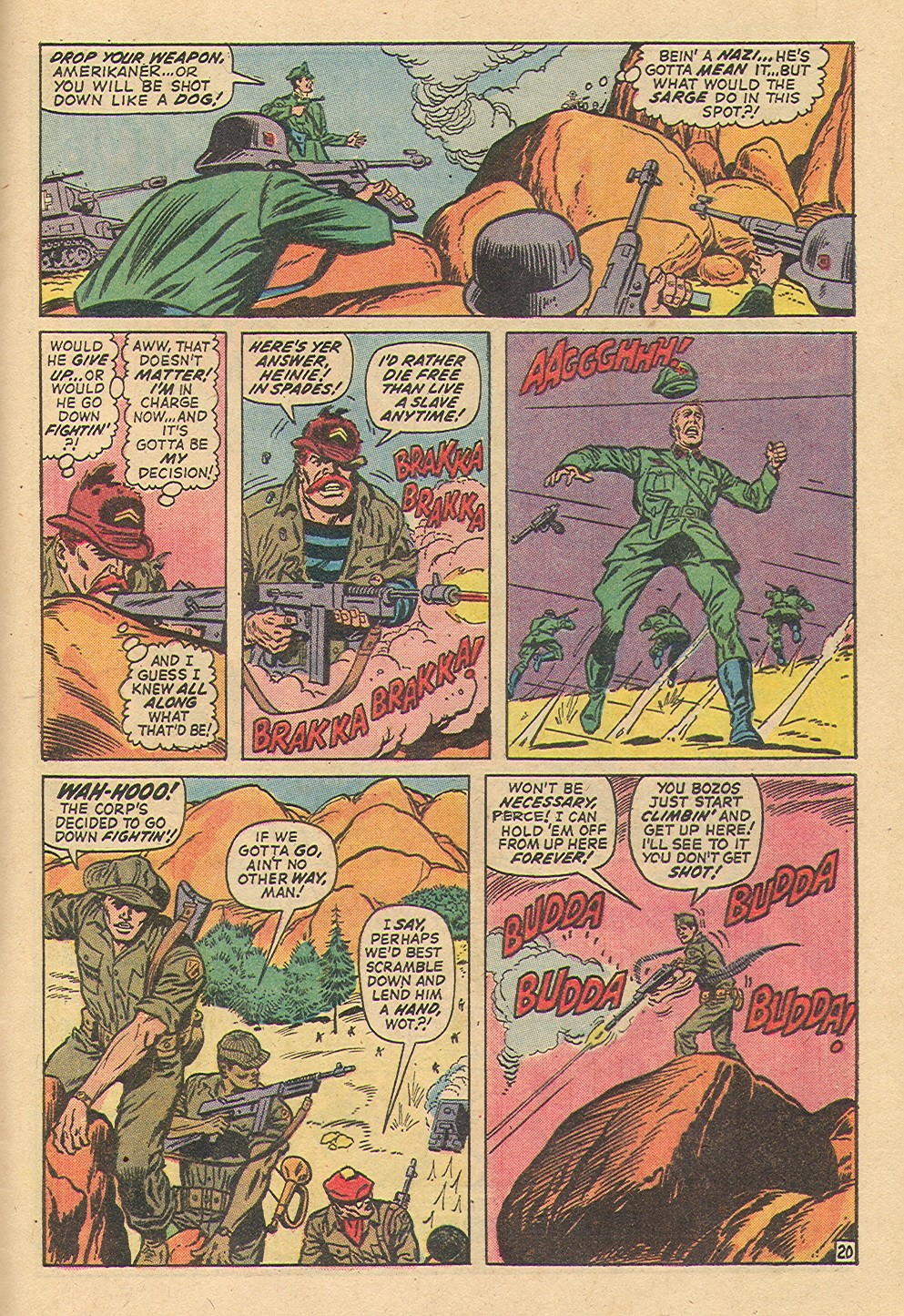 Read online Sgt. Fury comic -  Issue #97 - 29