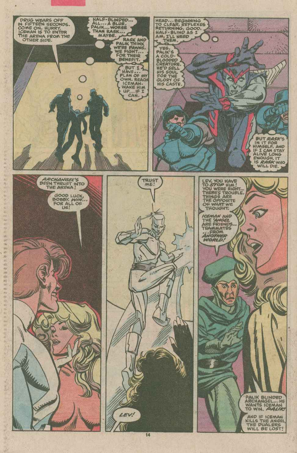 Read online X-Factor (1986) comic -  Issue #49 - 10