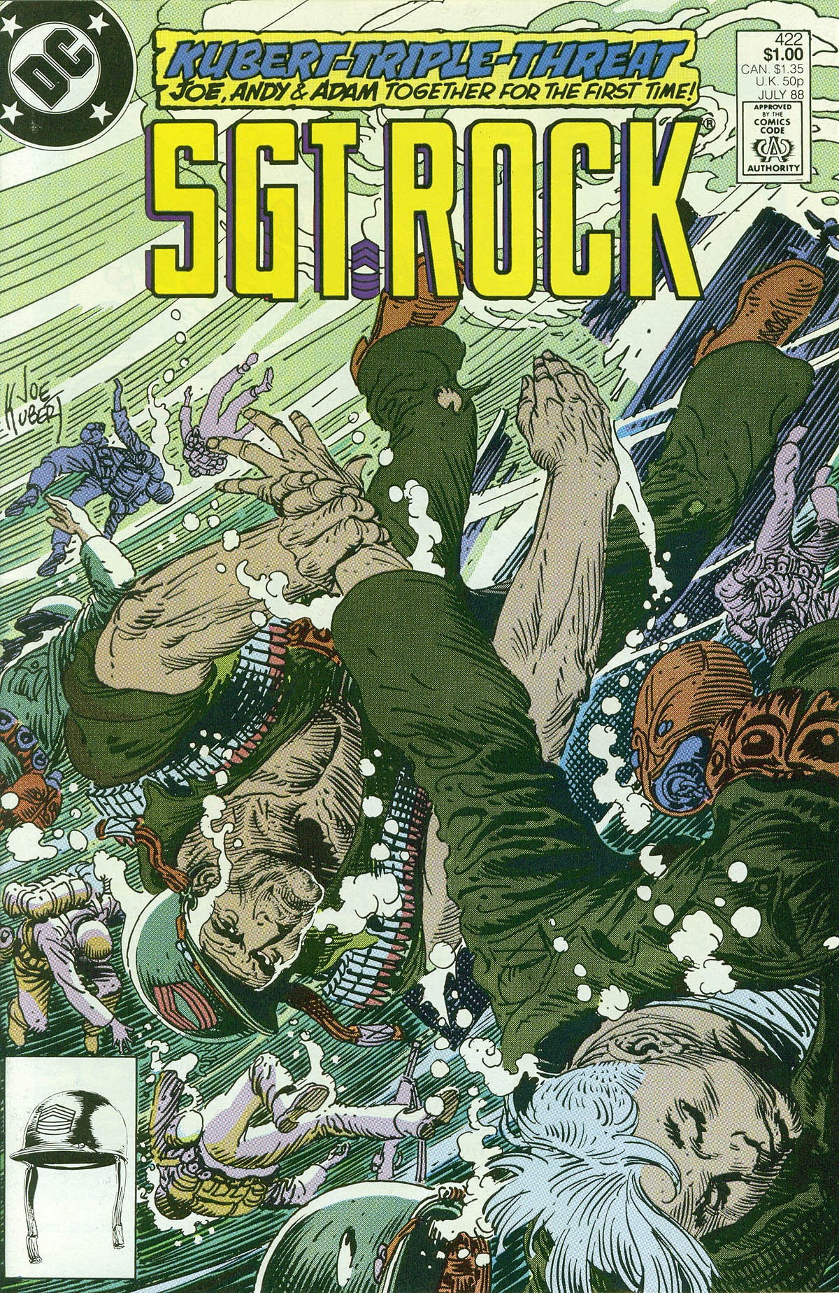 Read online Sgt. Rock comic -  Issue #422 - 1
