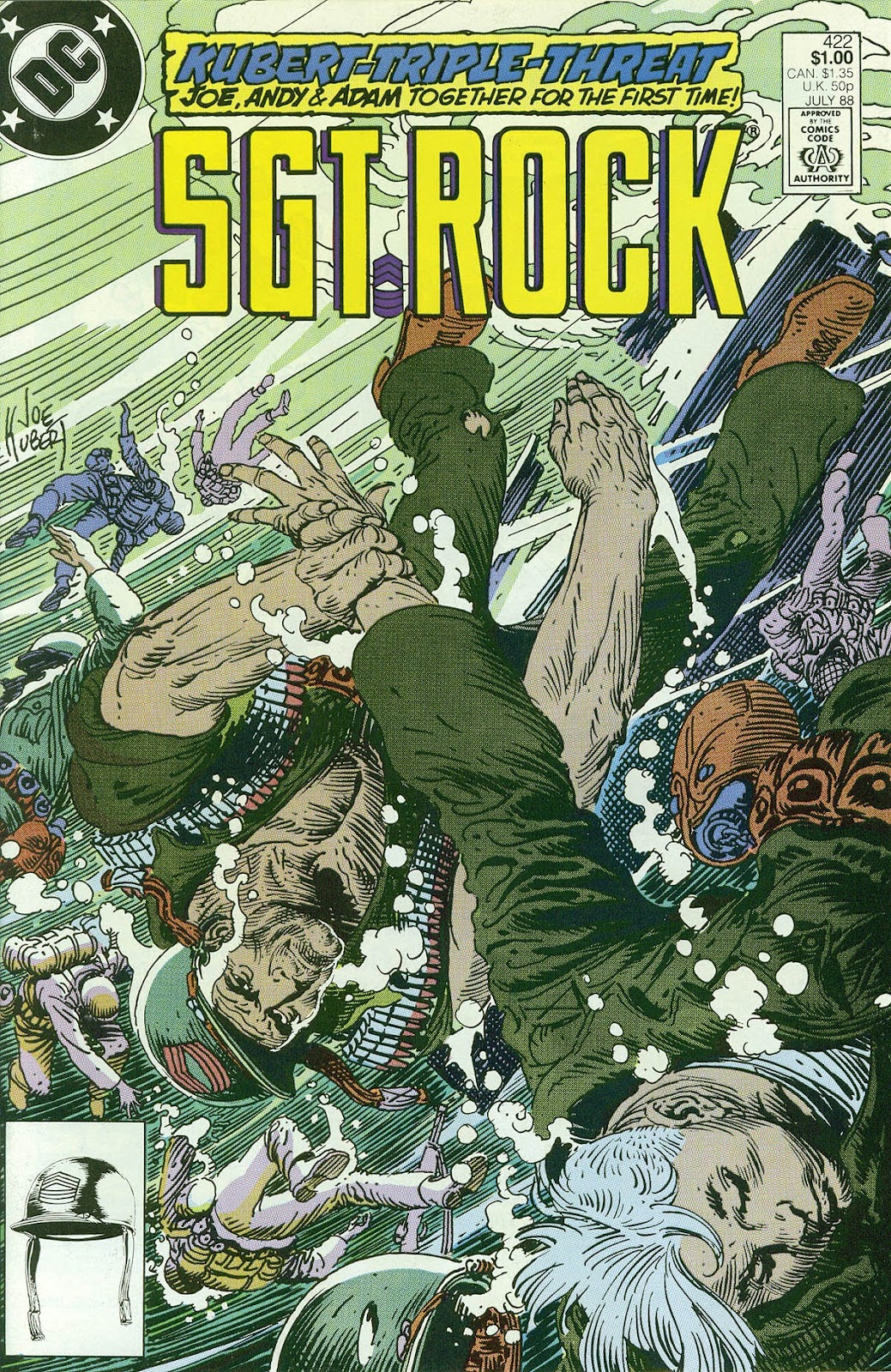 Sgt. Rock issue 422 - Page 1