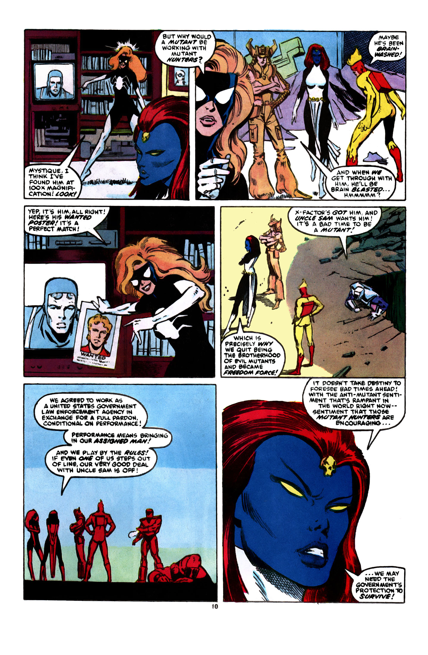 Read online X-Factor (1986) comic -  Issue #8 - 11