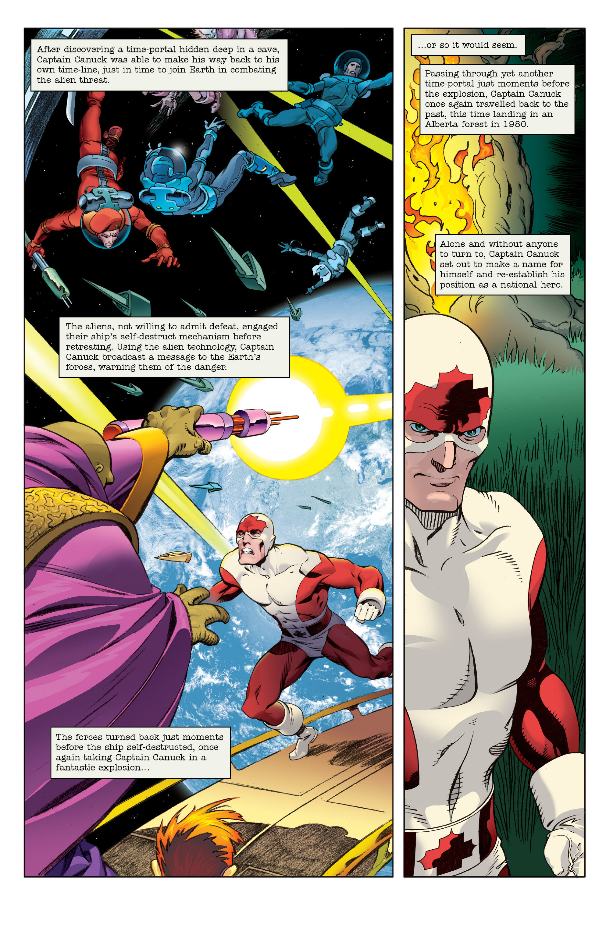 Read online All-New Classic Captain Canuck comic -  Issue #0 - 10