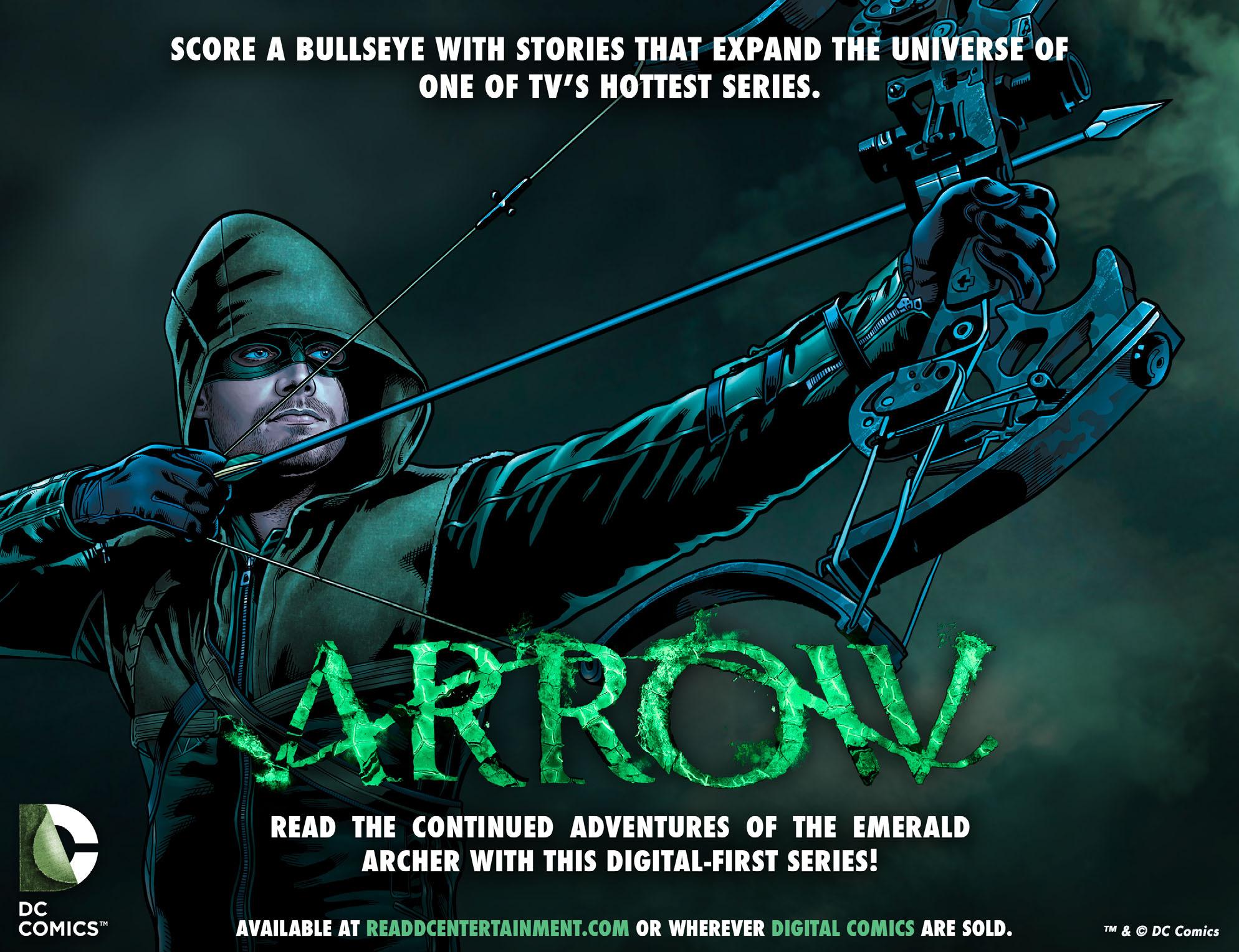 Read online Arrow: The Dark Archer comic -  Issue #5 - 23