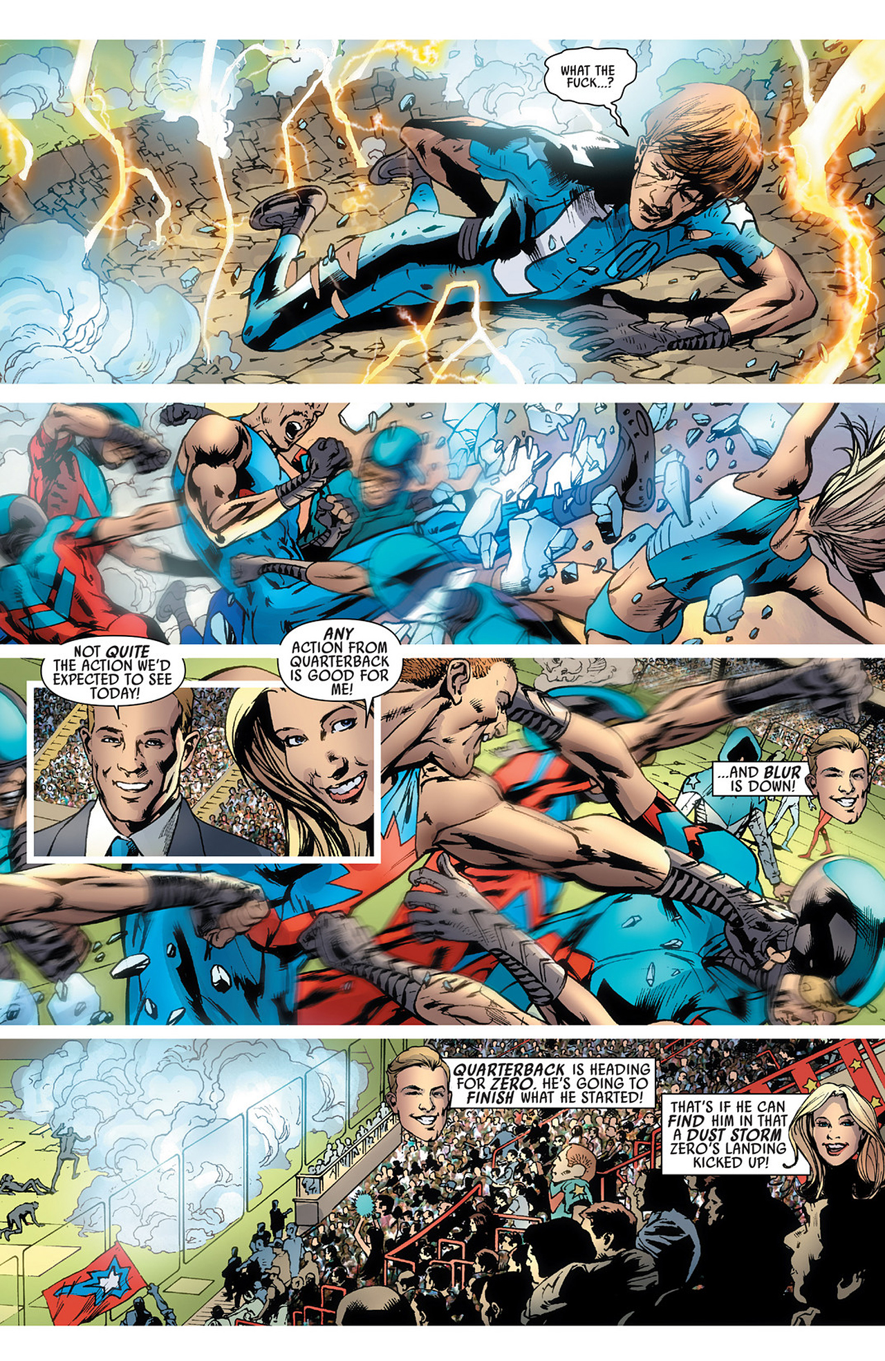 Read online America's Got Powers comic -  Issue #3 - 21