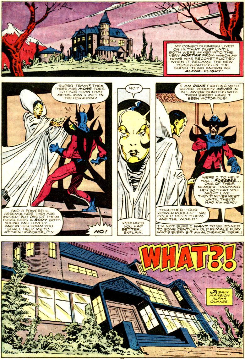 Read online Alpha Flight (1983) comic -  Issue # _Annual 1 - 28
