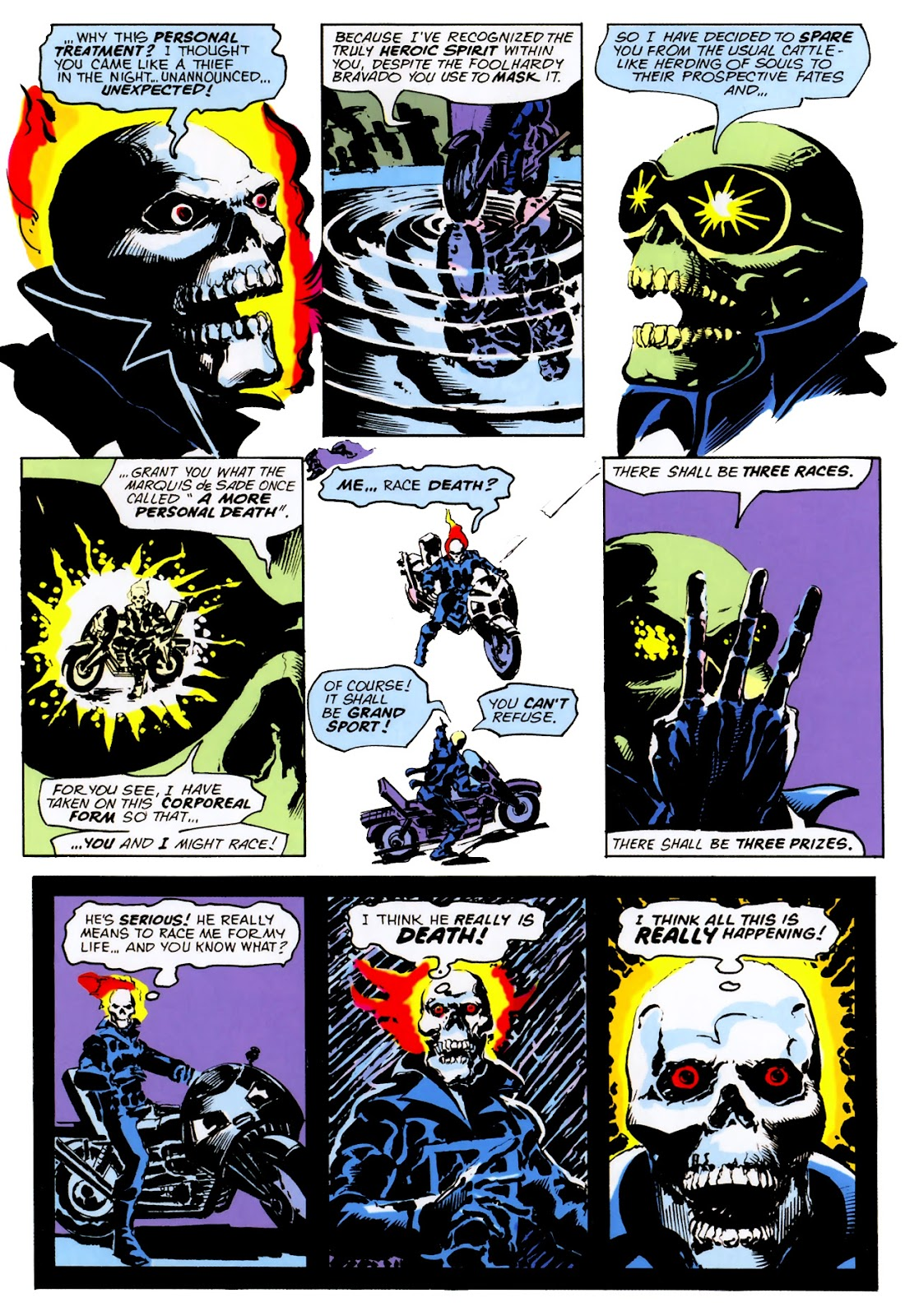 Read online Ghost Rider (2006) comic -  Issue # Annual 2 - 29