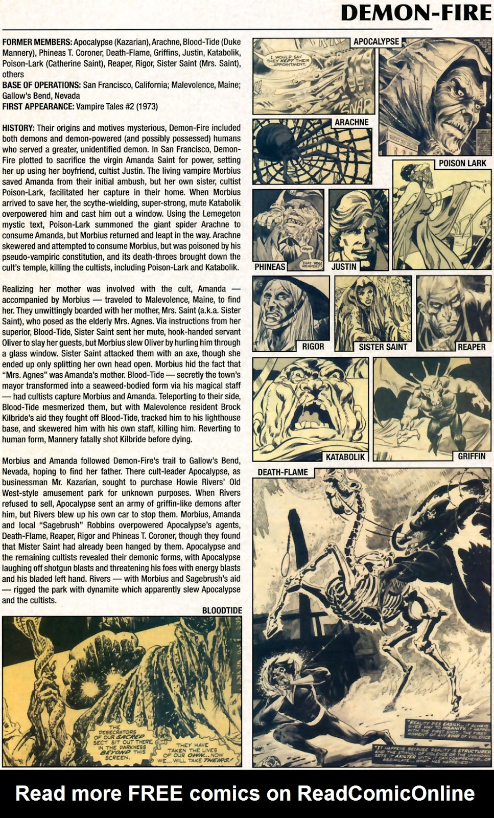 Read online Marvel Legacy: The 1970's Handbook comic -  Issue # Full - 21