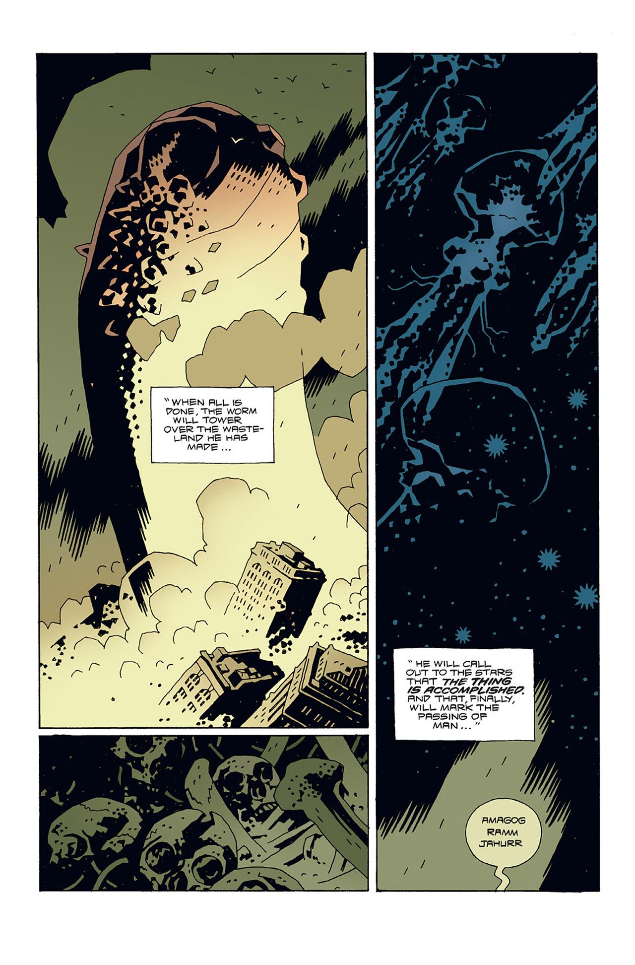 Read online Hellboy: Conqueror Worm comic -  Issue #3 - 28