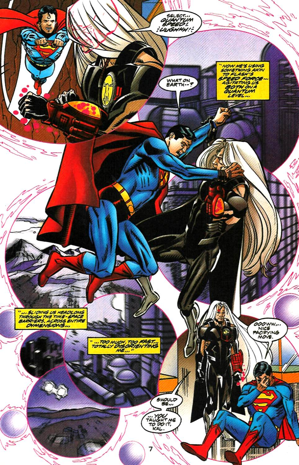 Read online Adventures of Superman (1987) comic -  Issue #1000000 - 8