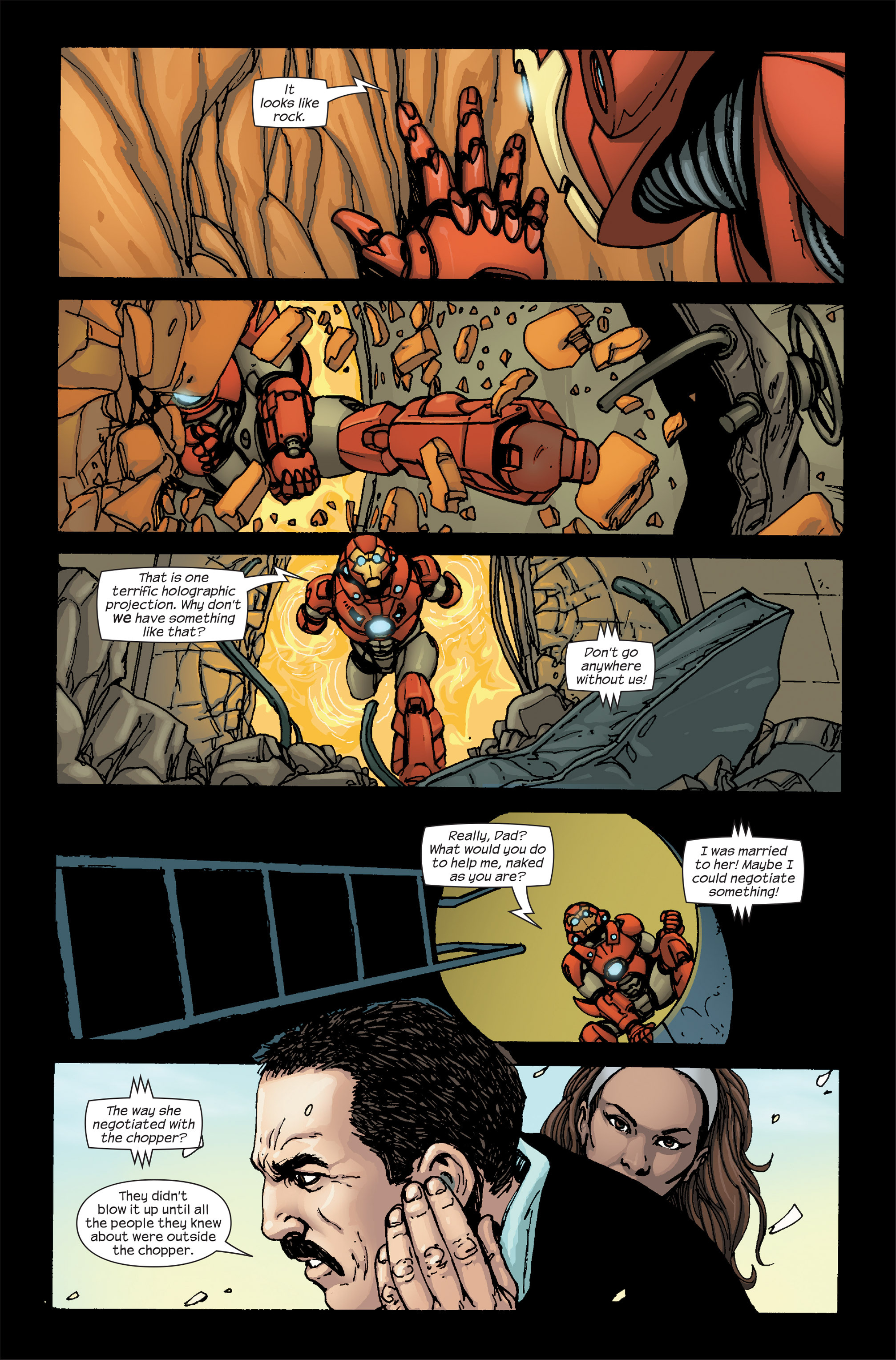 Read online Ultimate Iron Man II comic -  Issue #5 - 14