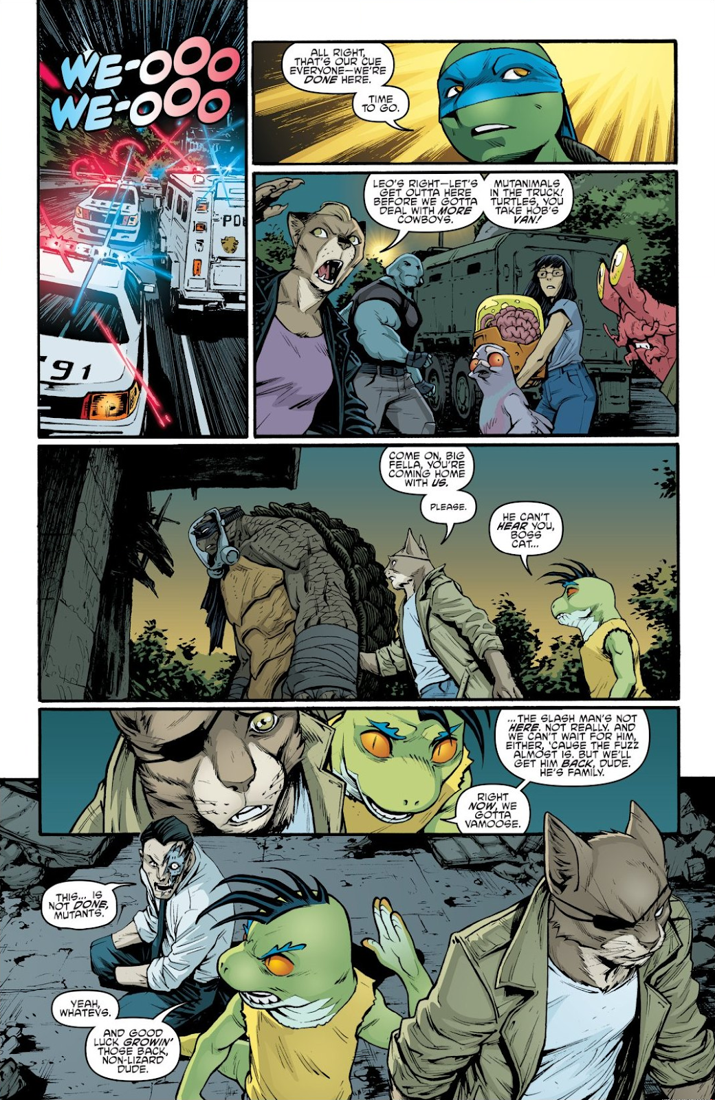 Read online Teenage Mutant Ninja Turtles: The IDW Collection comic -  Issue # TPB 9 (Part 1) - 92