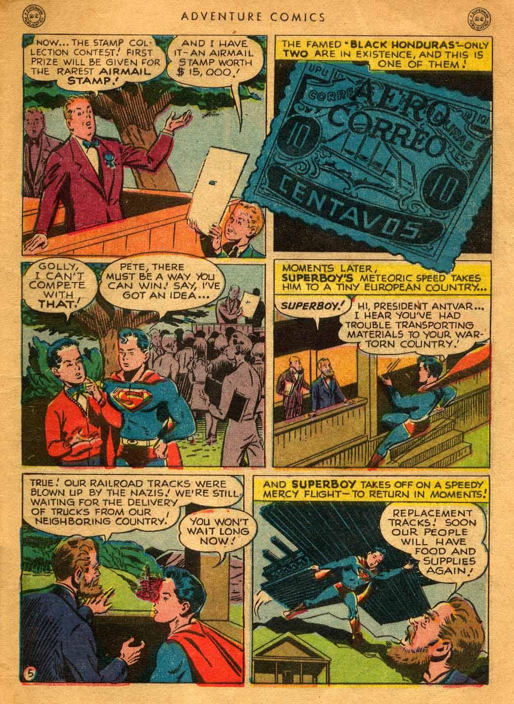 Read online Adventure Comics (1938) comic -  Issue #121 - 7