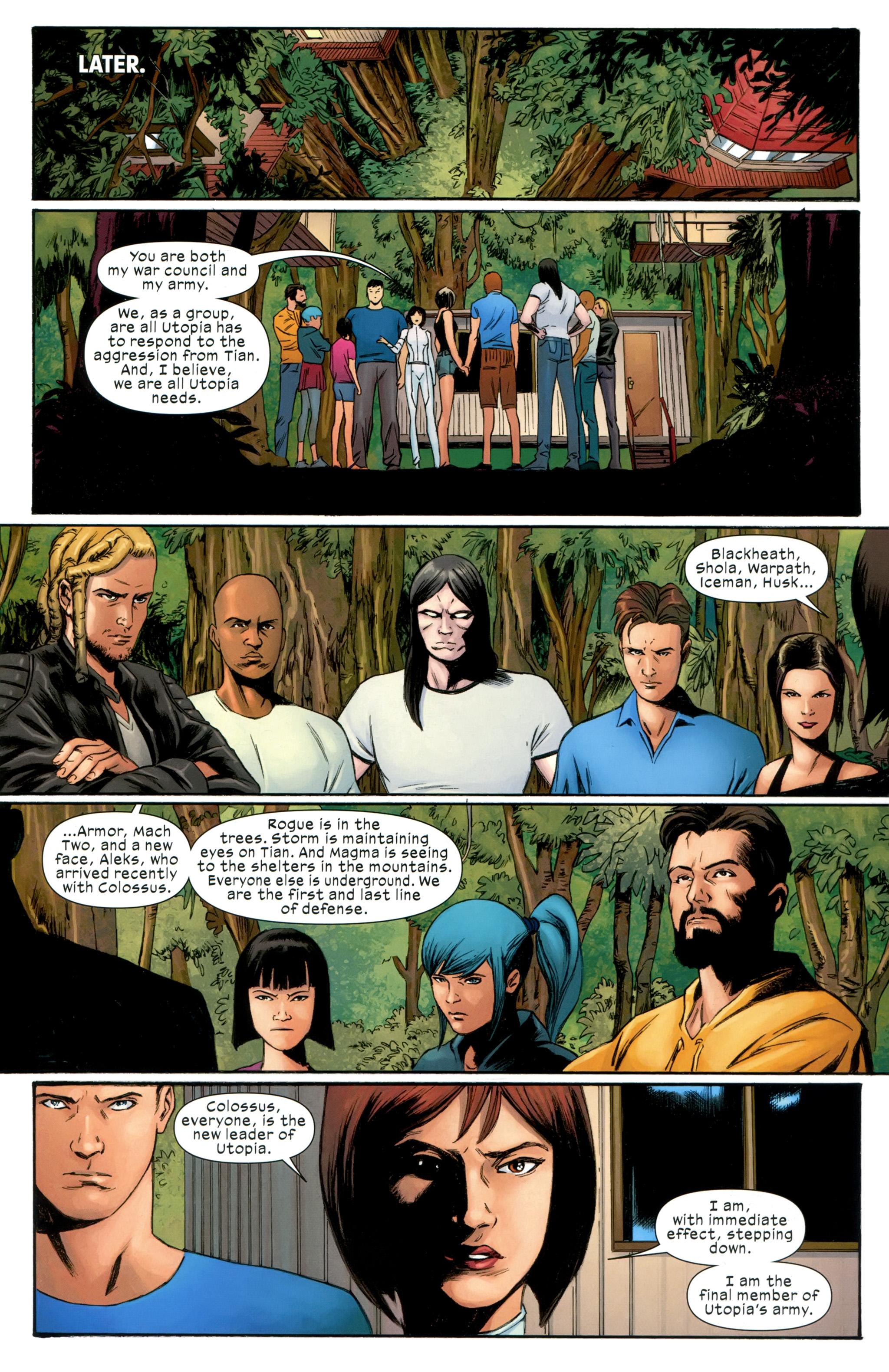 Read online Ultimate Comics X-Men comic -  Issue #31 - 14