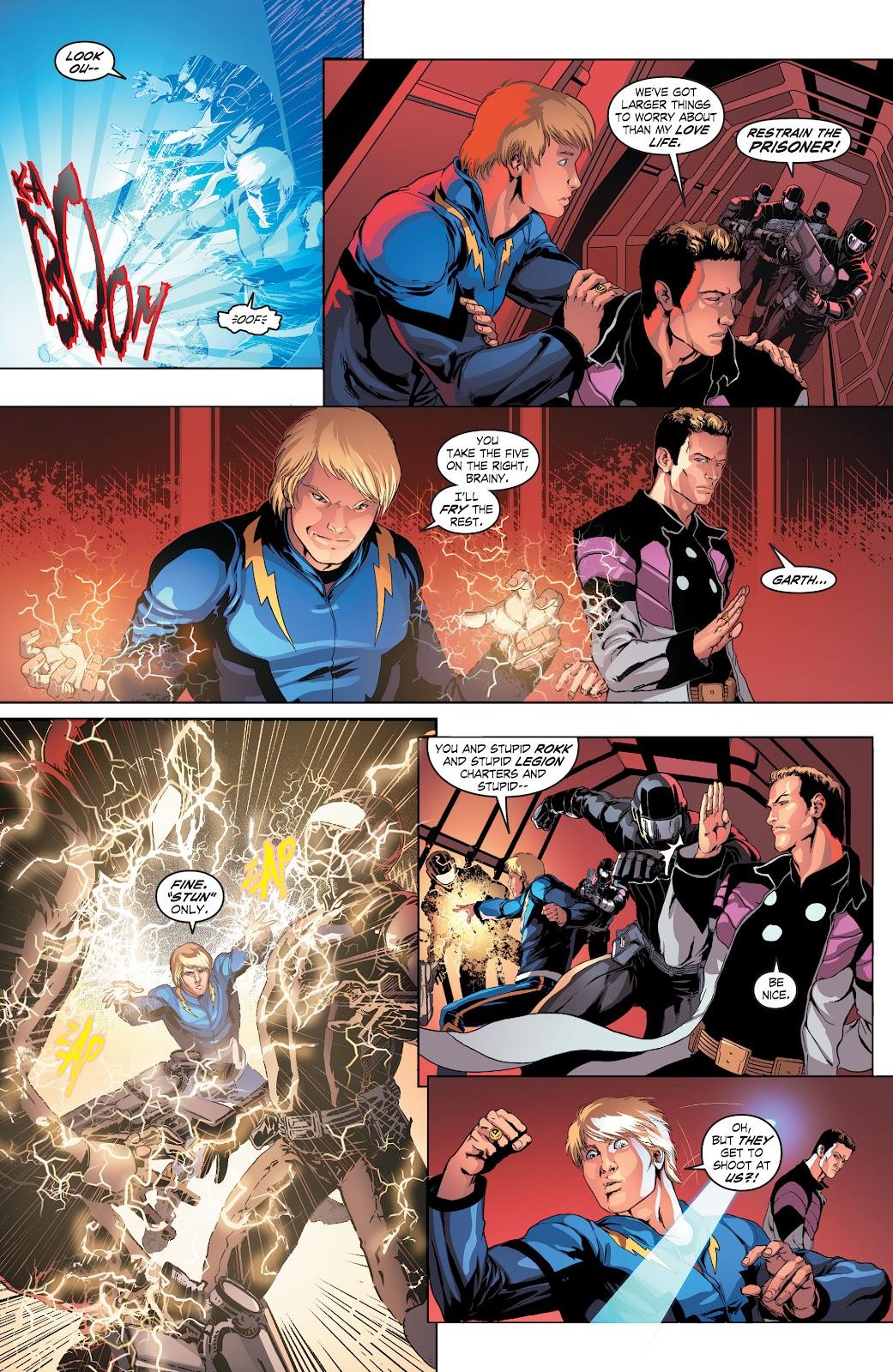 Read online Smallville Season 11 [II] comic -  Issue # TPB 4 - 22