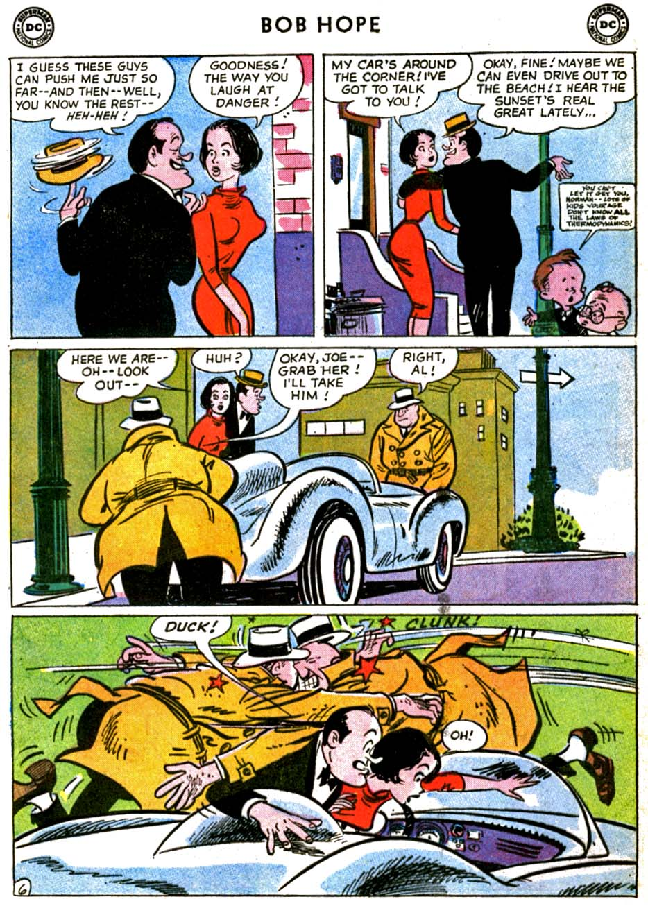 The Adventures of Bob Hope issue 69 - Page 8